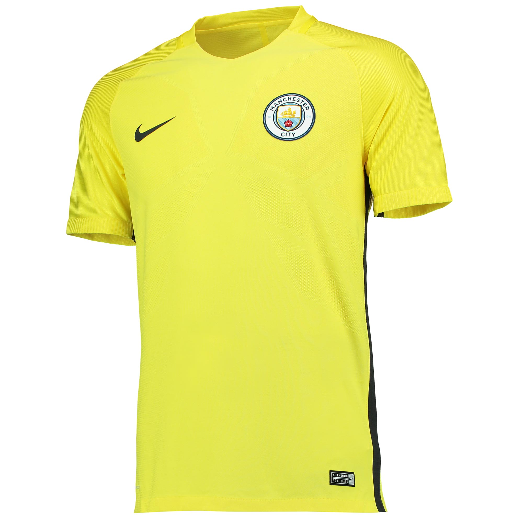 Manchester City Strike Training Top - Yellow