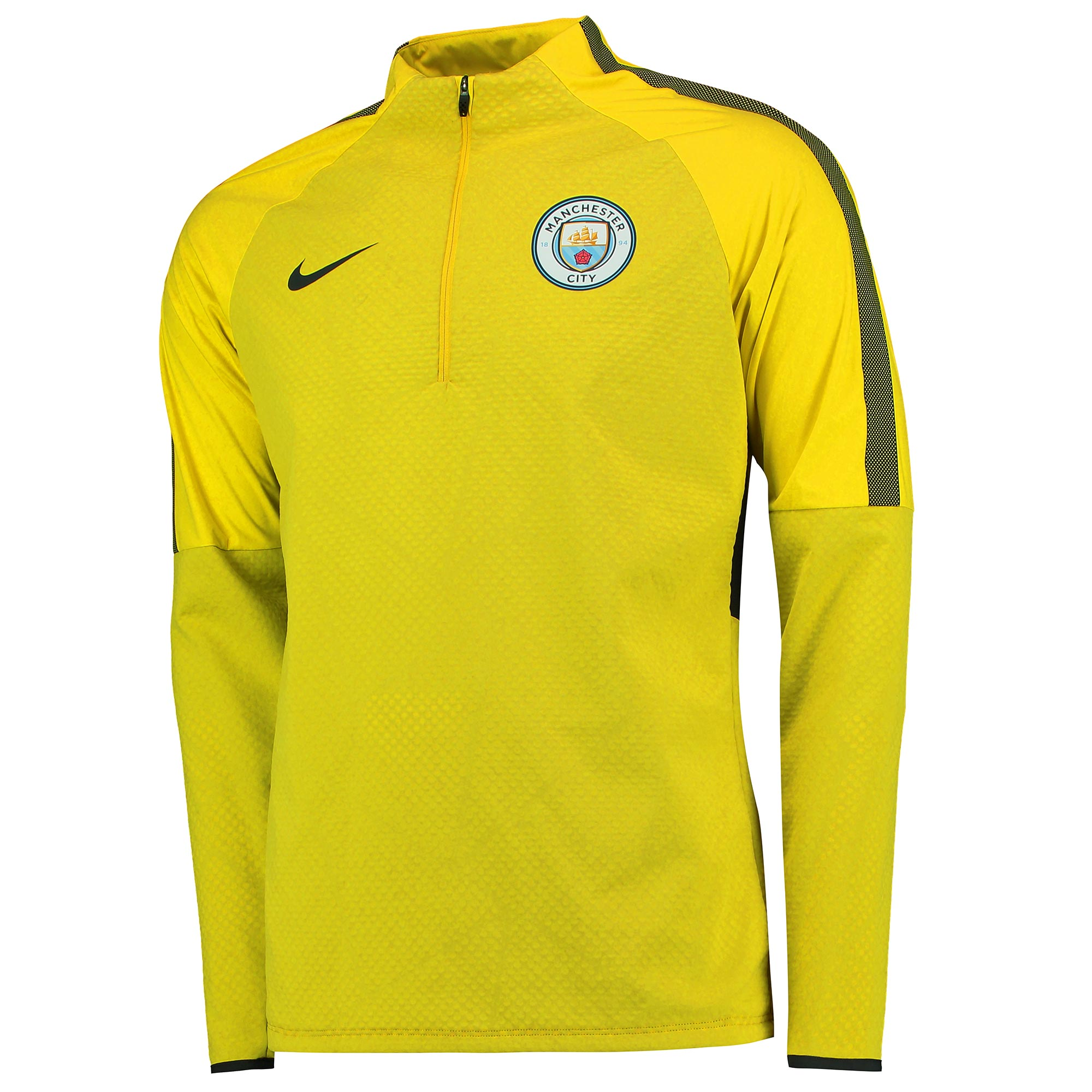 Manchester City Strike Shield Drill Top - Yellow