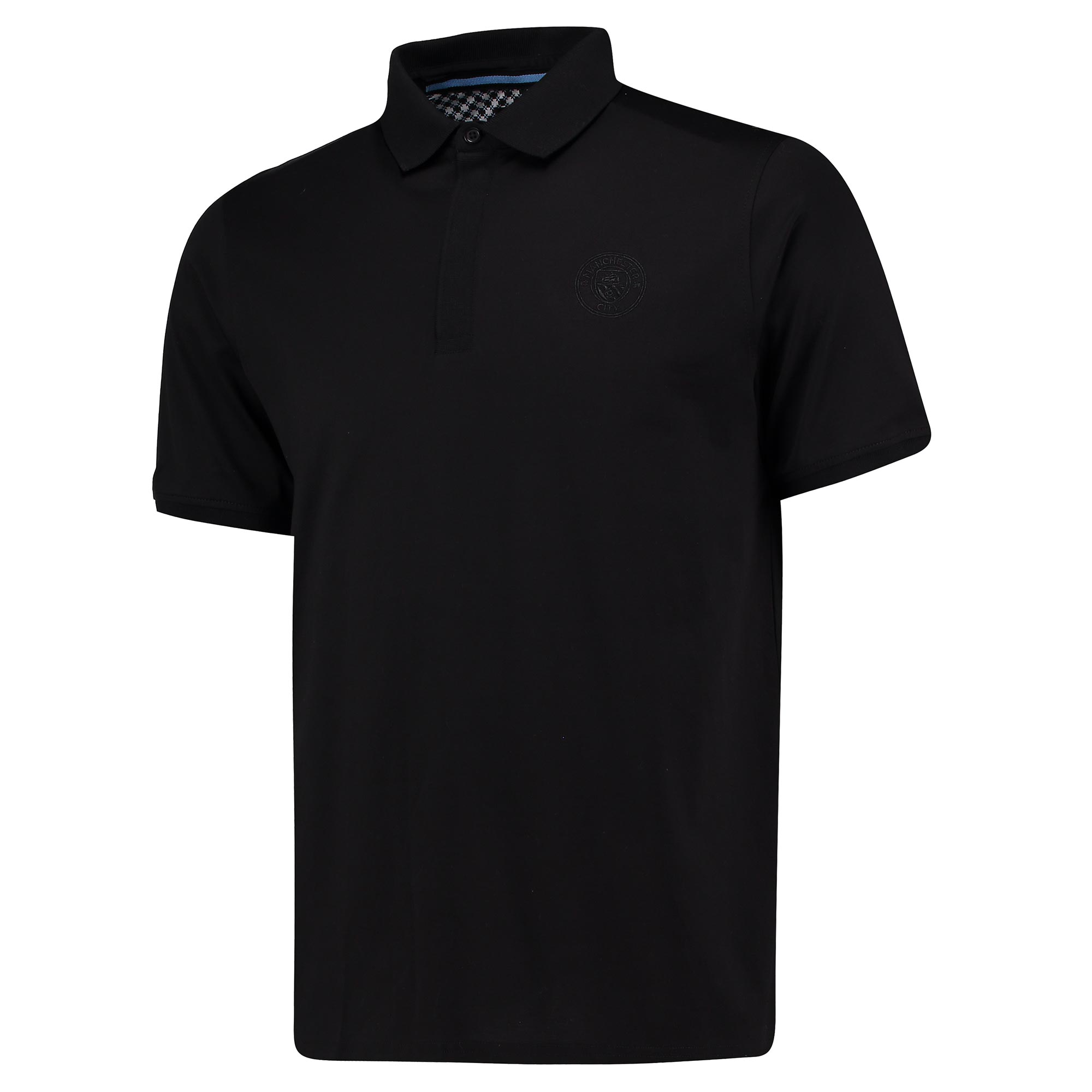 Manchester City 1894 Mercerised Polo Shirt - Black