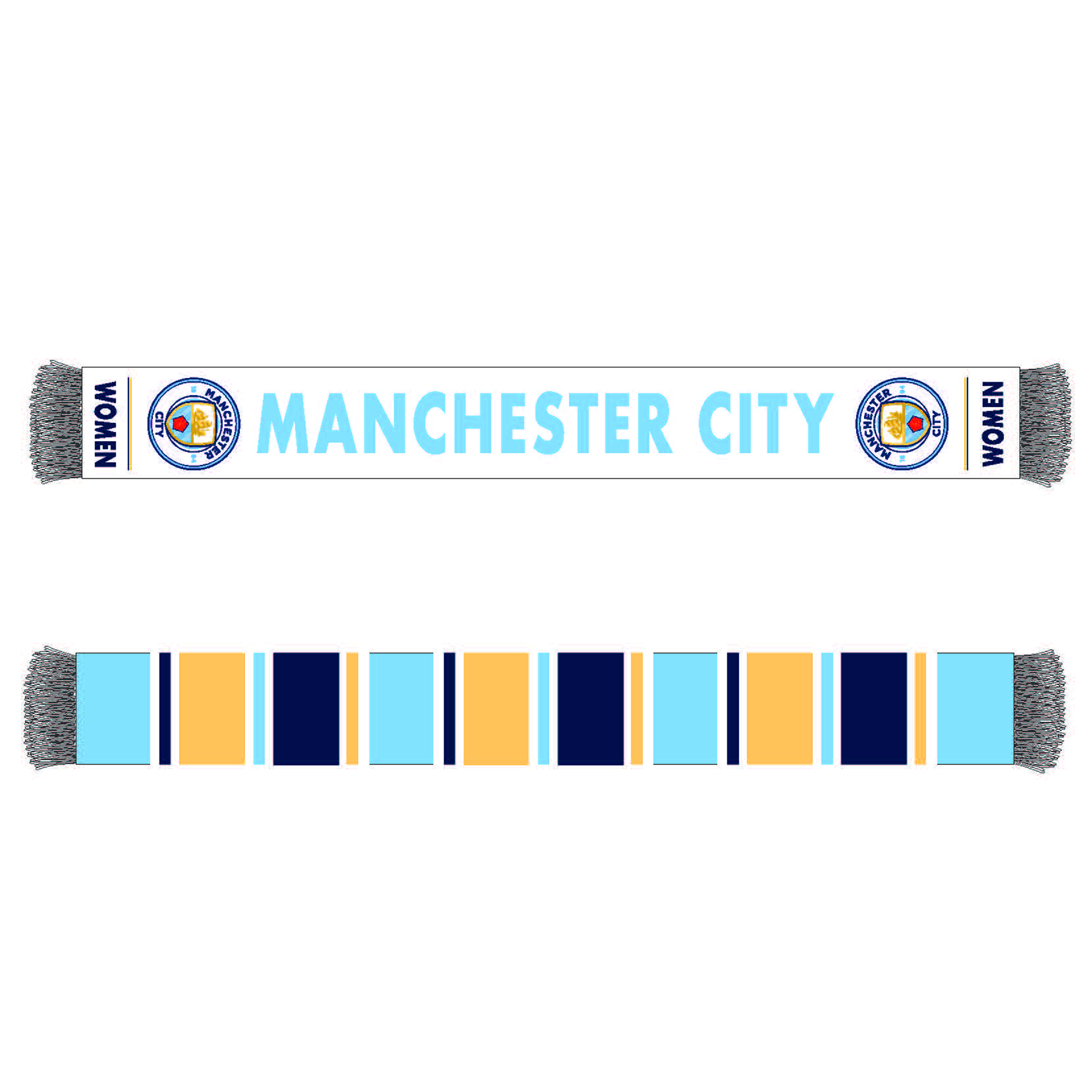 Manchester City Womens FC Scarf