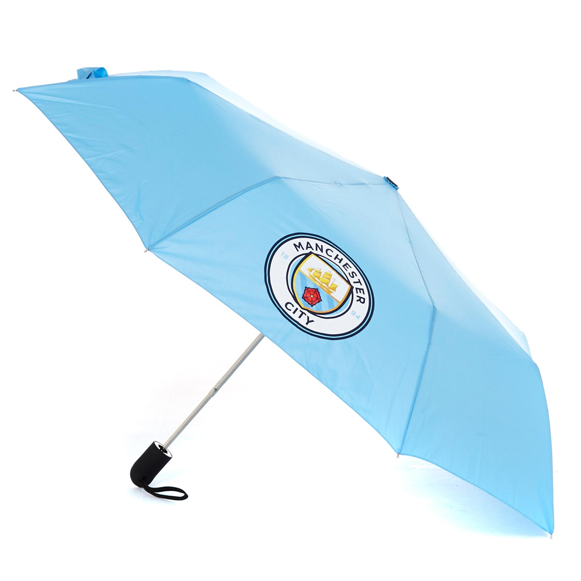 Manchester City Mini Automatic Umbrella and Sleeve