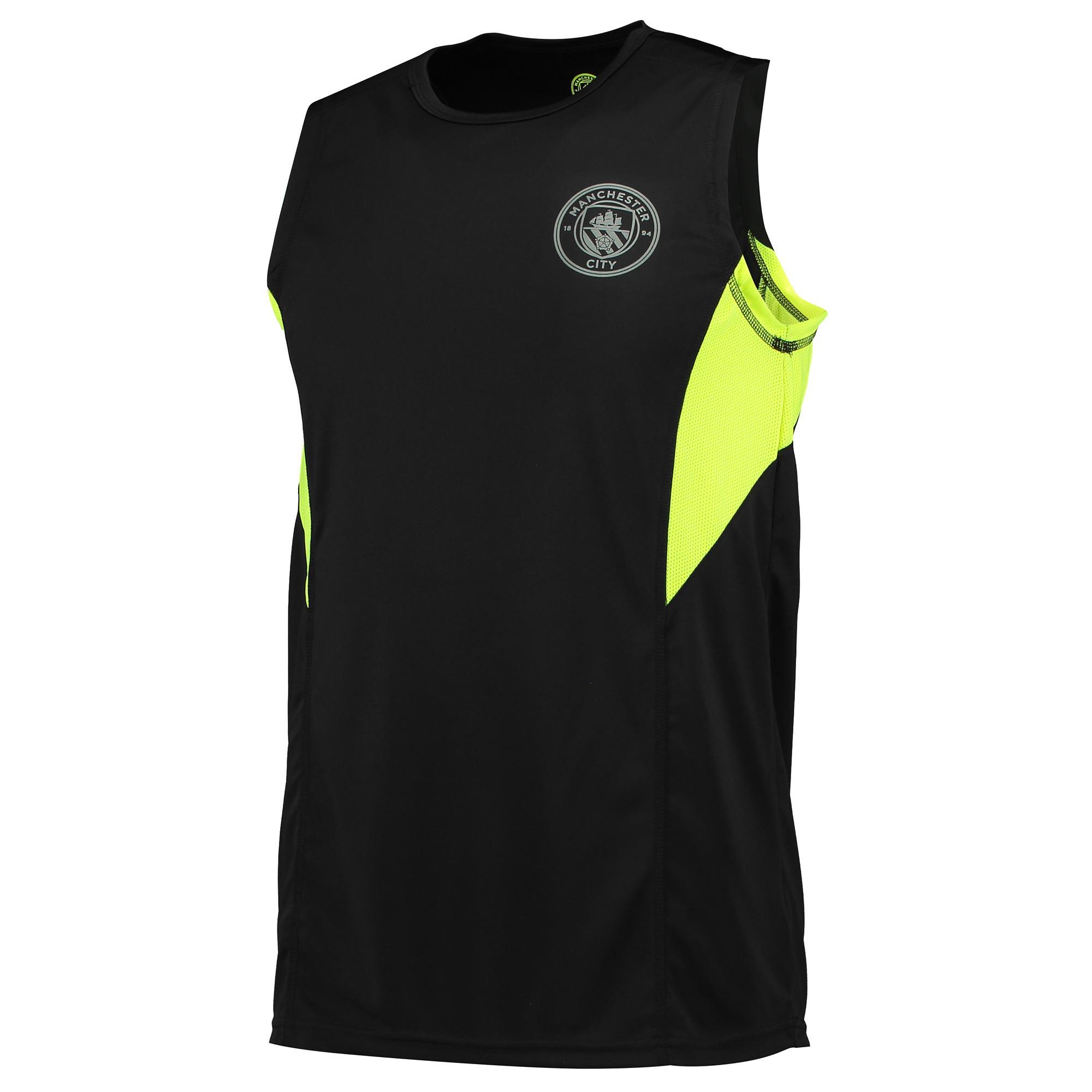 Manchester City Sport Poly Vest - Black