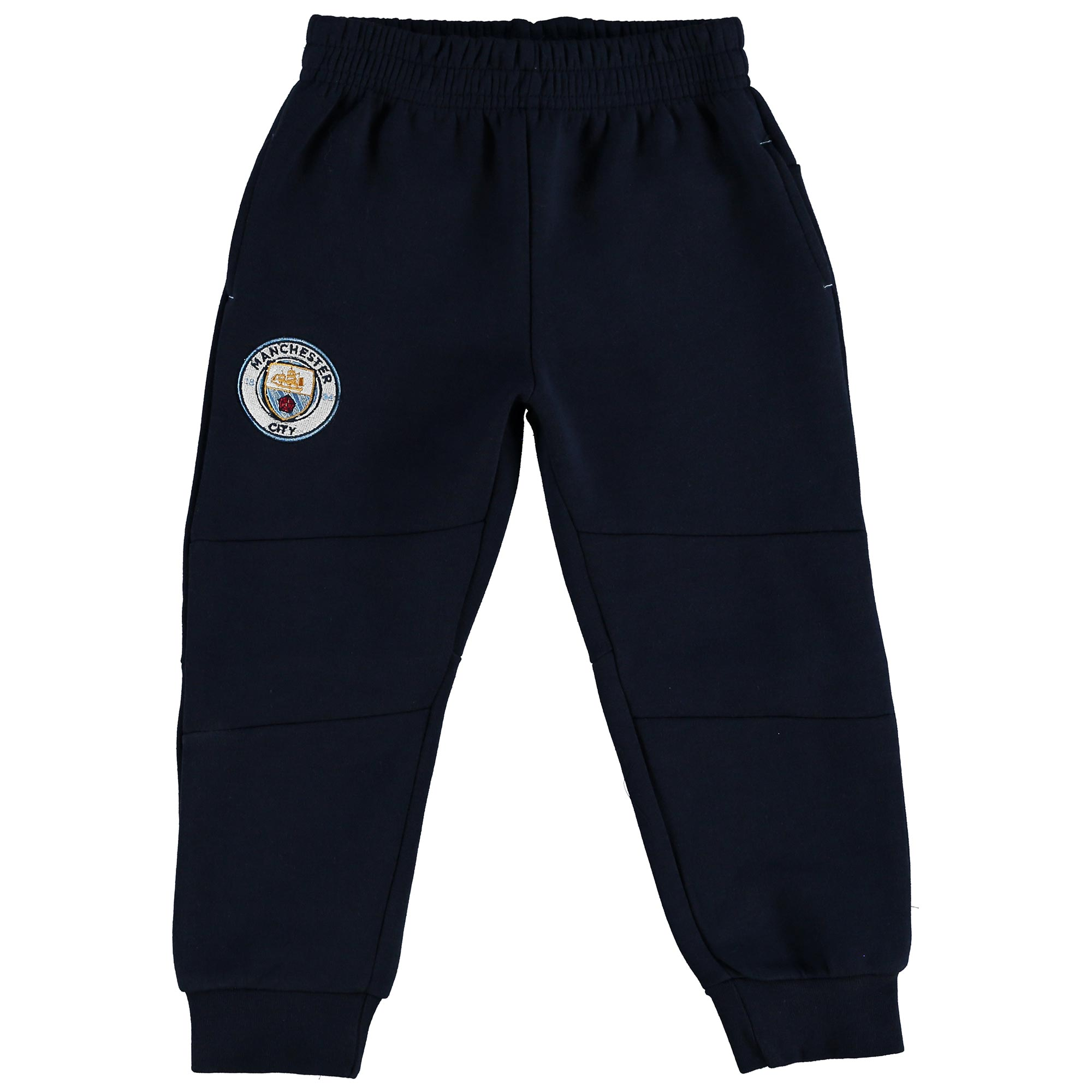 Manchester City Tapered Jogger - Navy - Junior