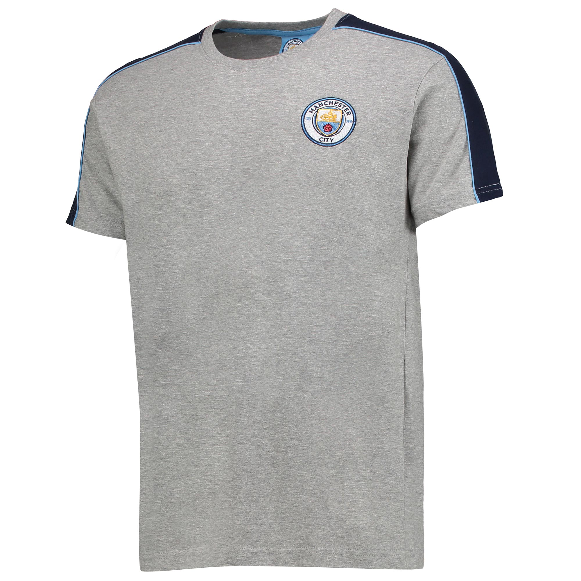 Manchester City T-Shirt - Grey Marl