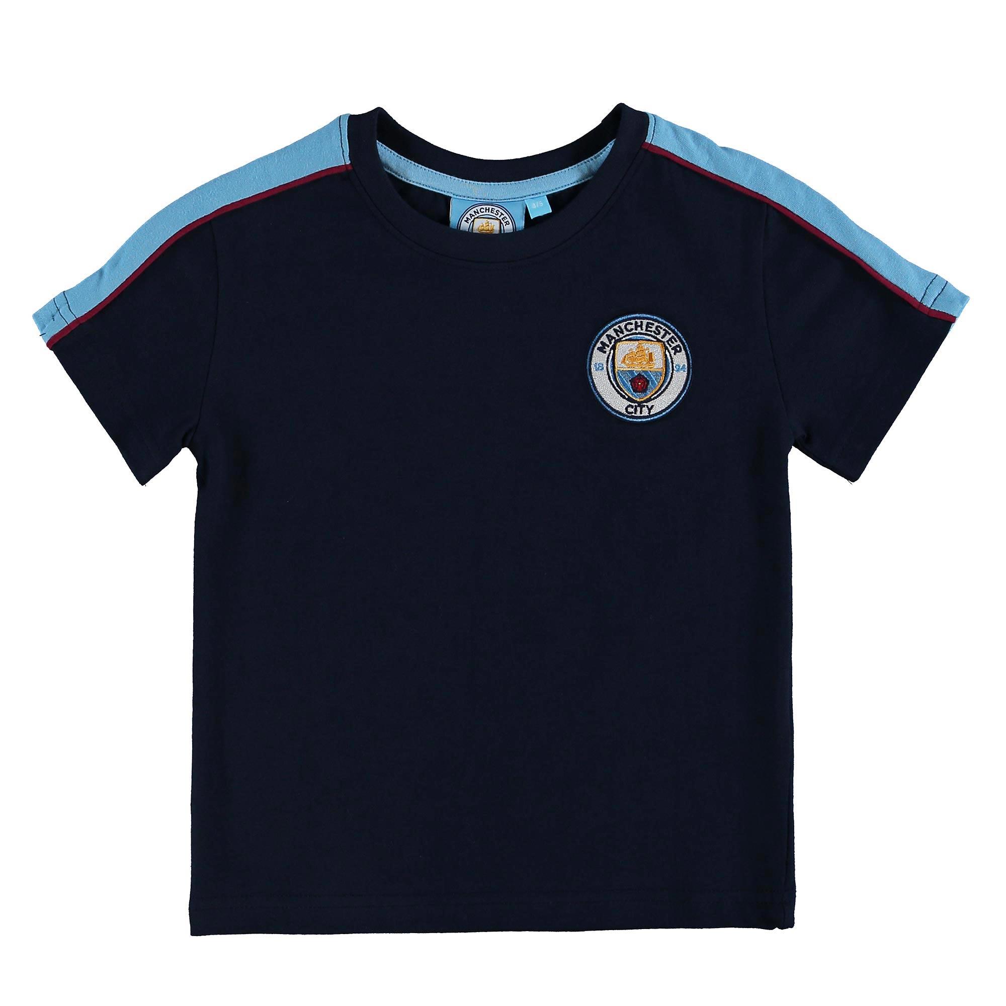 Manchester City T-Shirt - Navy - Junior