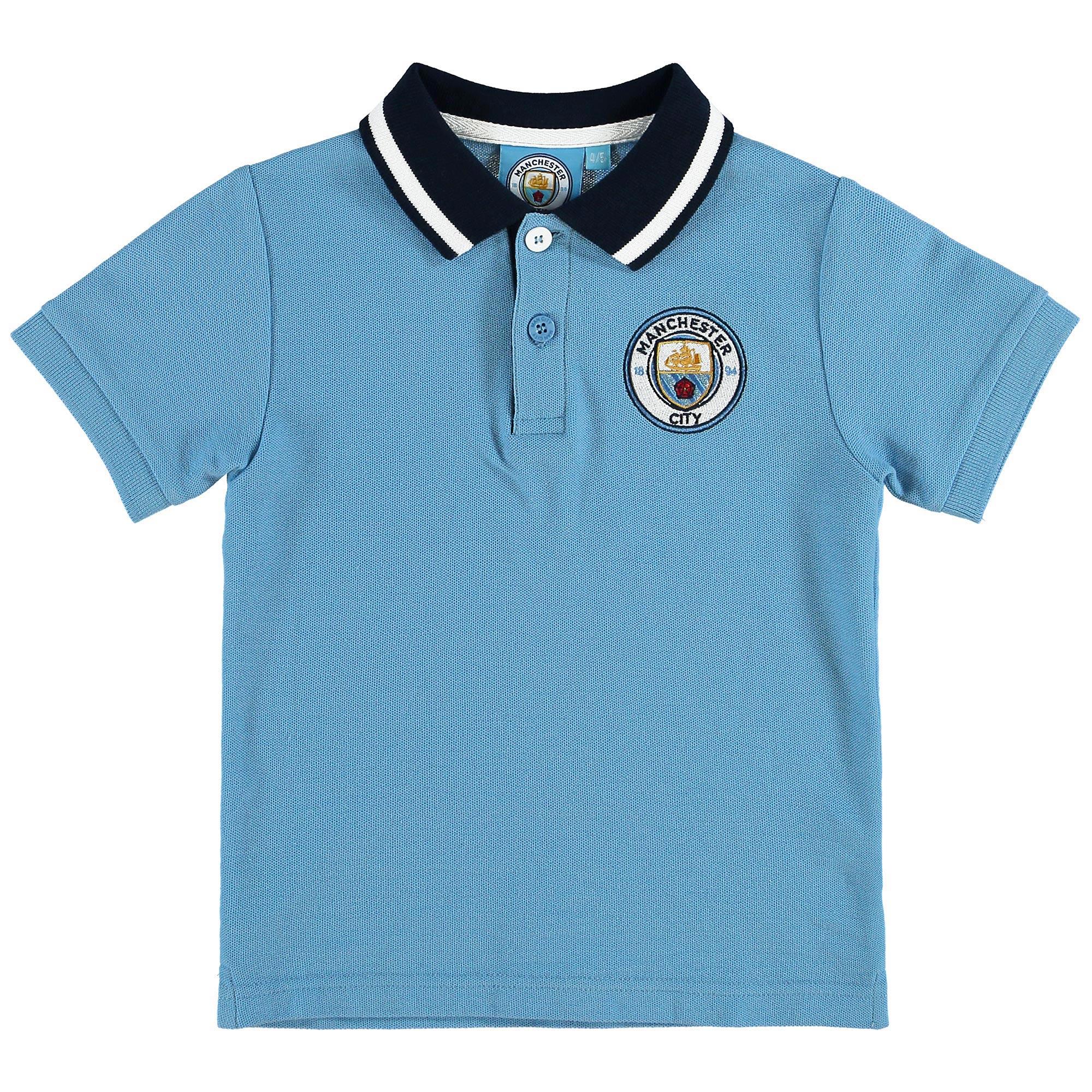 Manchester City Polo - Sky - Junior
