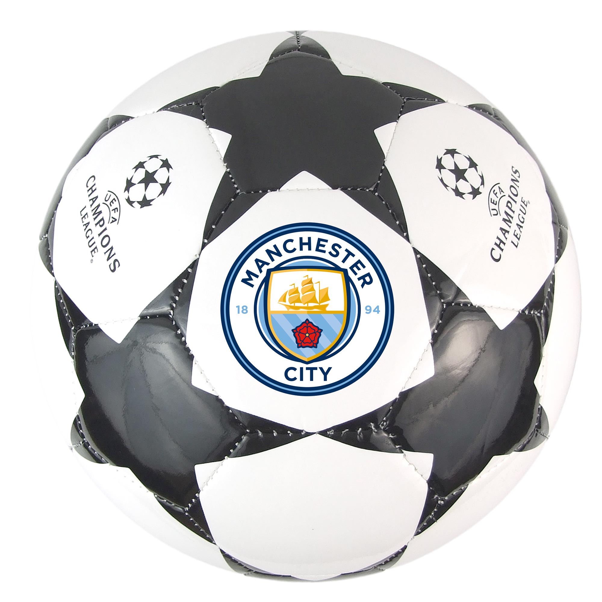 Manchester City UCL Star Football - Size 5
