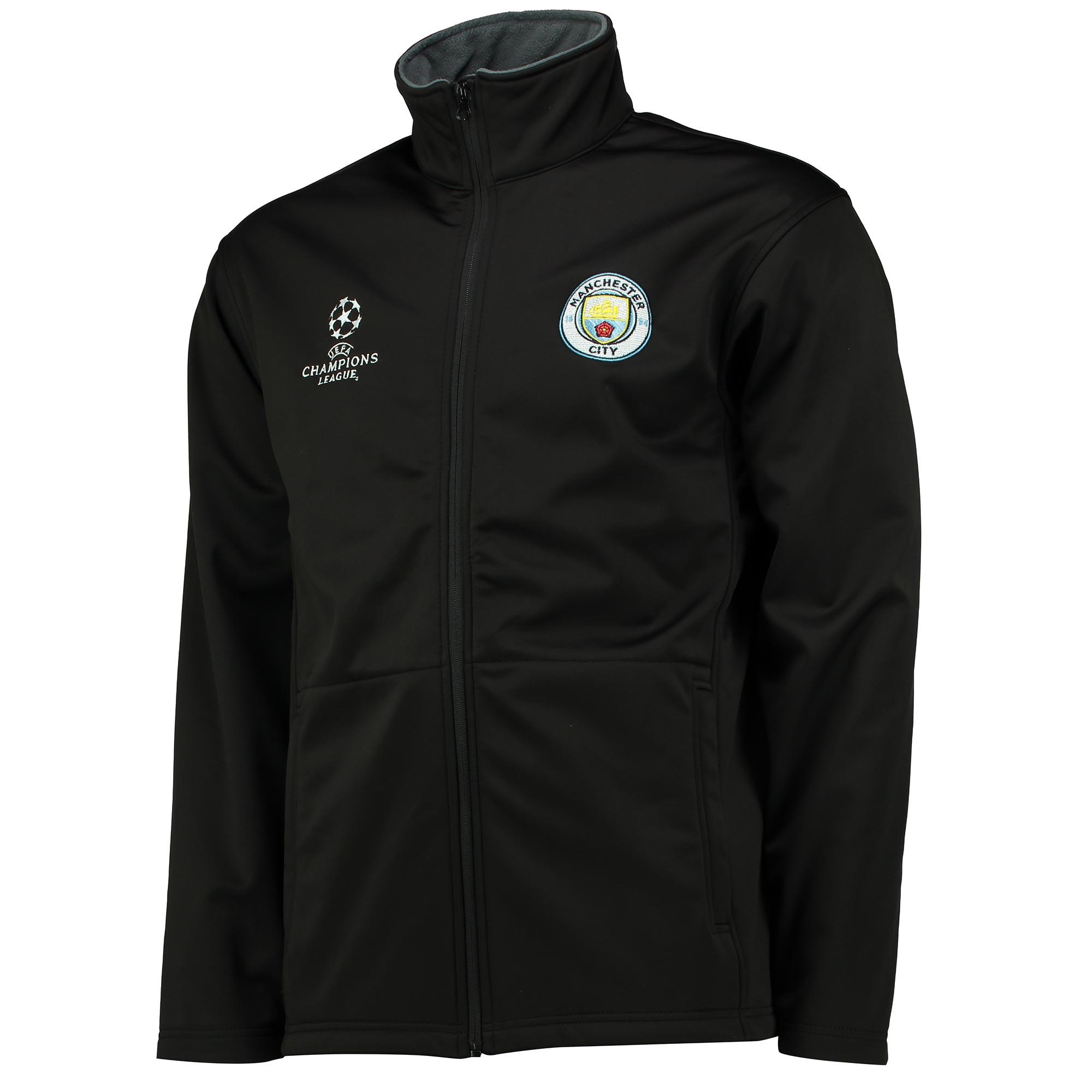 Manchester City UEFA Softshell - Black