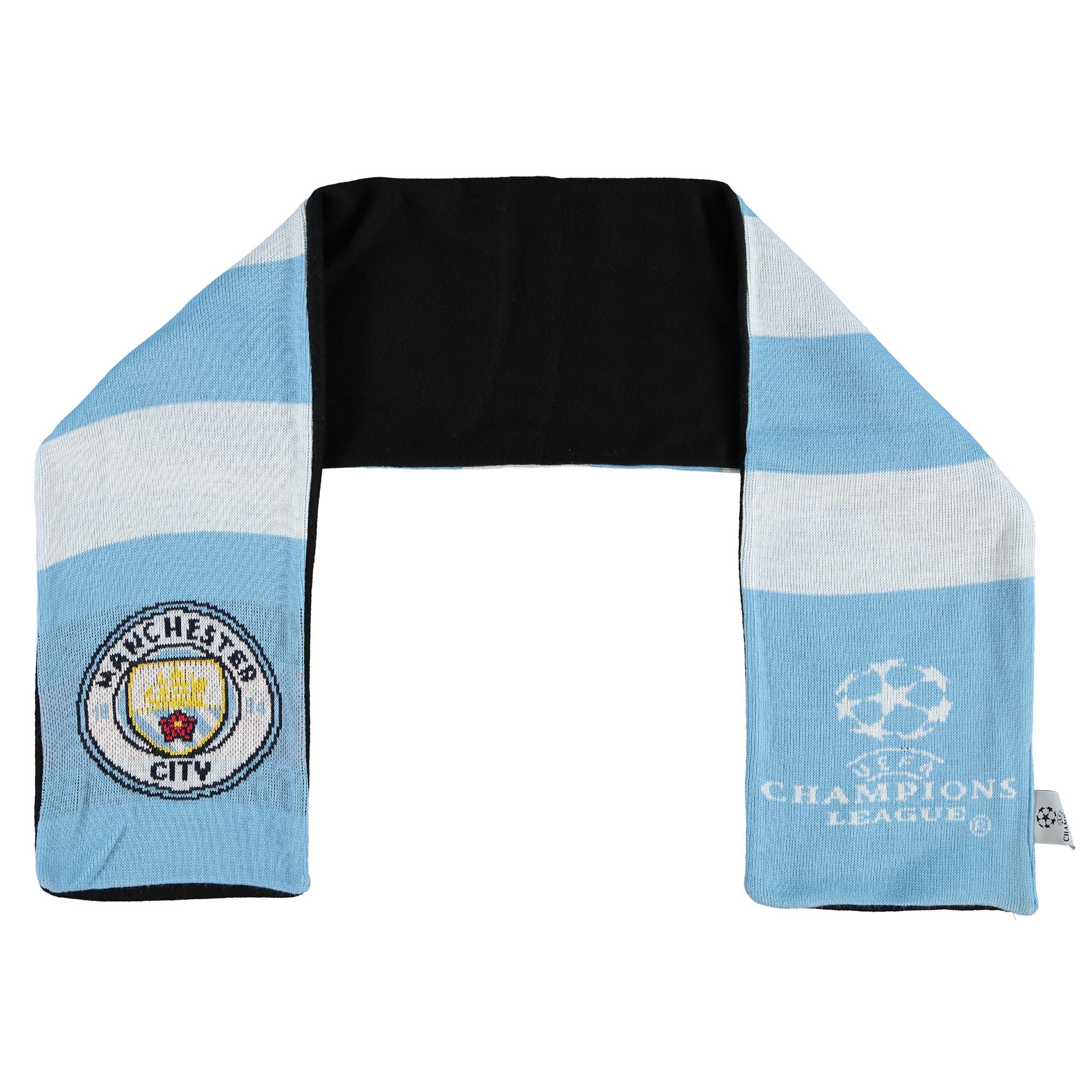 Manchester City UEFA Fleece Bar Scarf