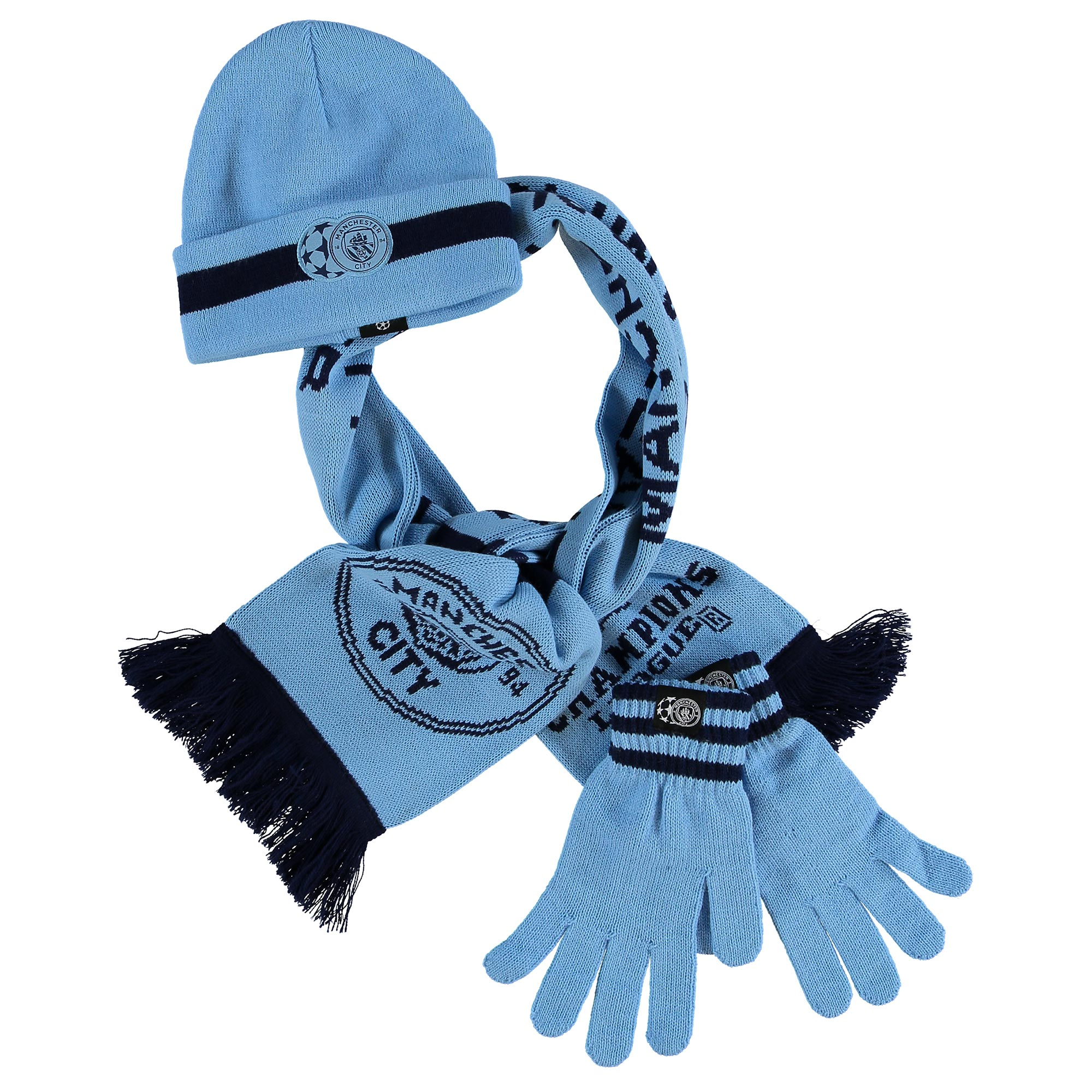 Manchester City UEFA Winter Set