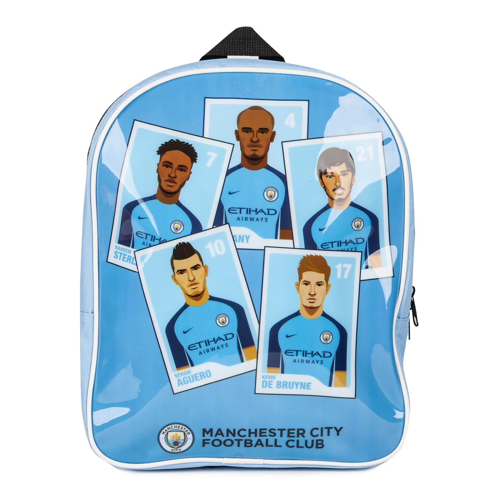 Manchester City Player PVC Backpack