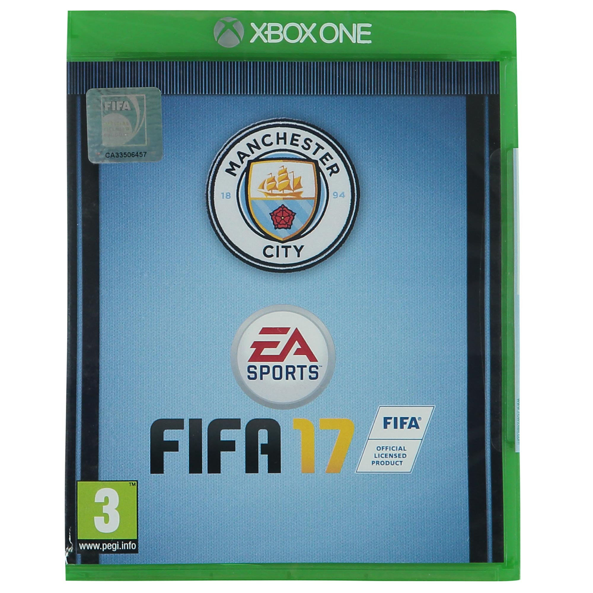 Manchester City FIFA 17 - Club Cover - Xbox One Game