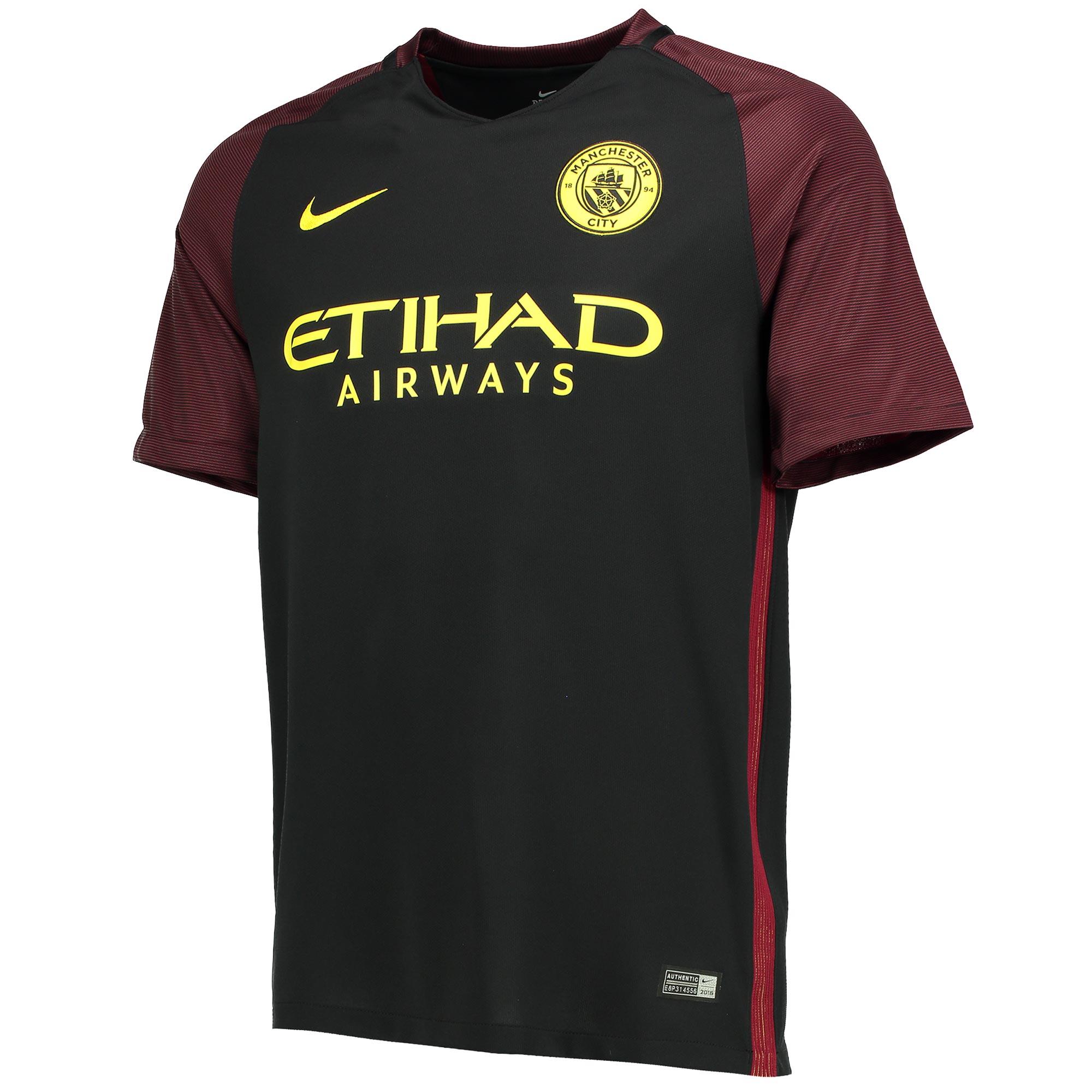 Manchester City UCL Away Stadium Shirt 2016-17