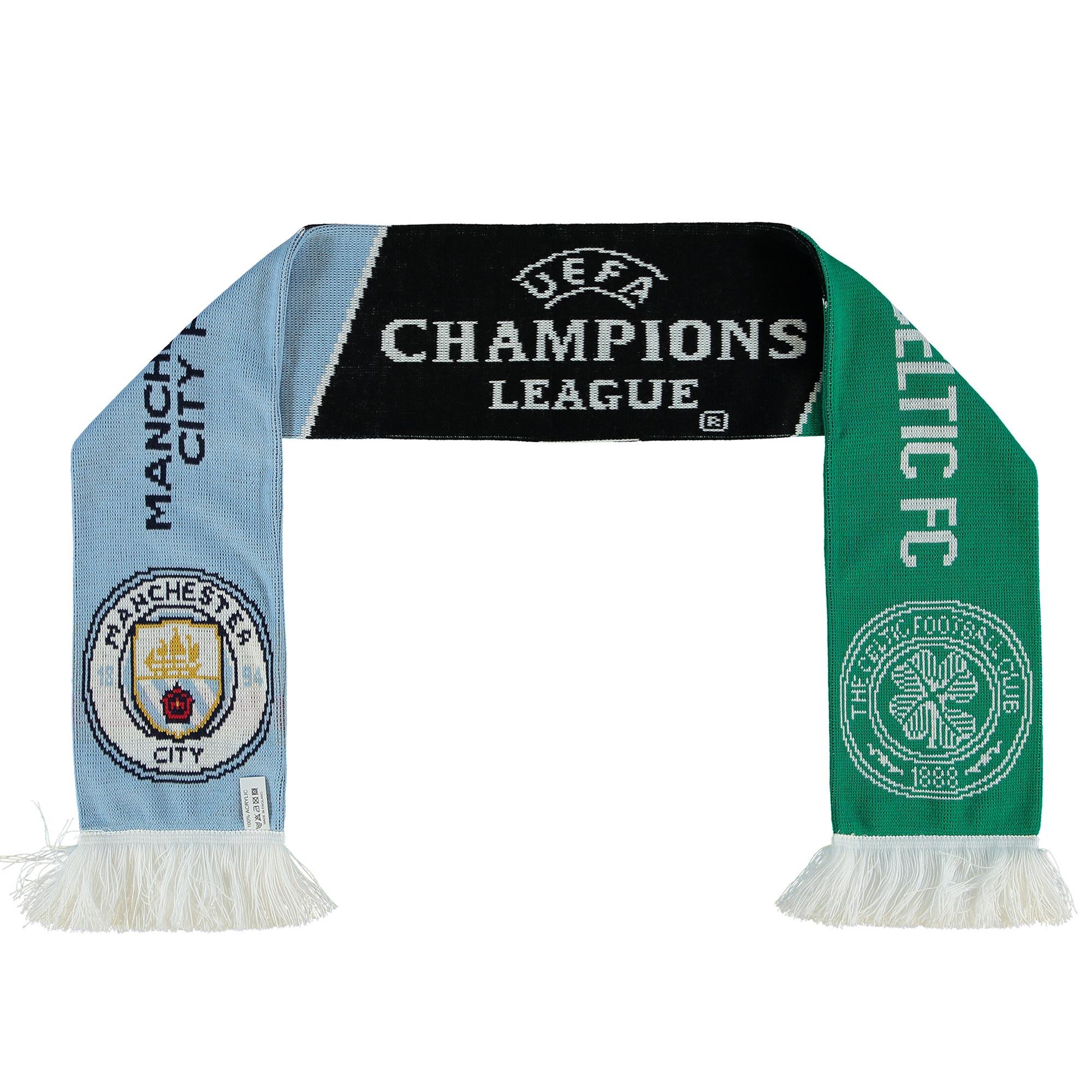 Manchester City UEFA Scarf vs Celtic