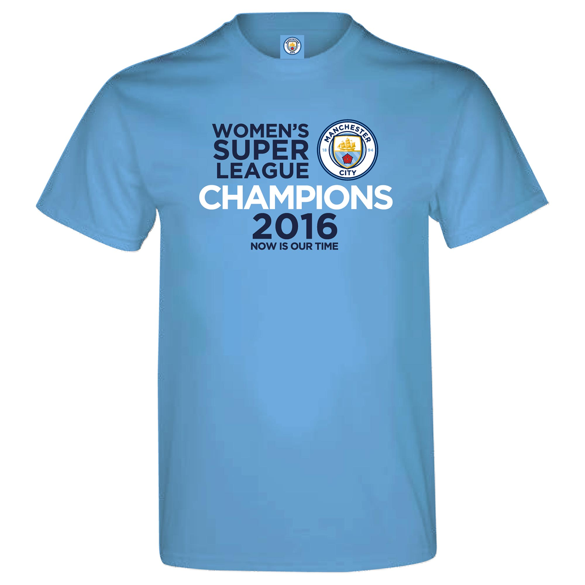 Manchester City FAWSL Champions T-Shirt - Junior