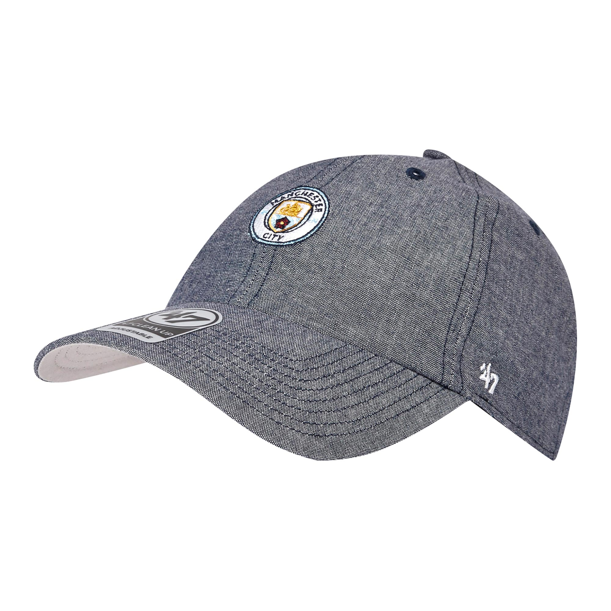 Manchester City 47 Monument Cap - Chambray