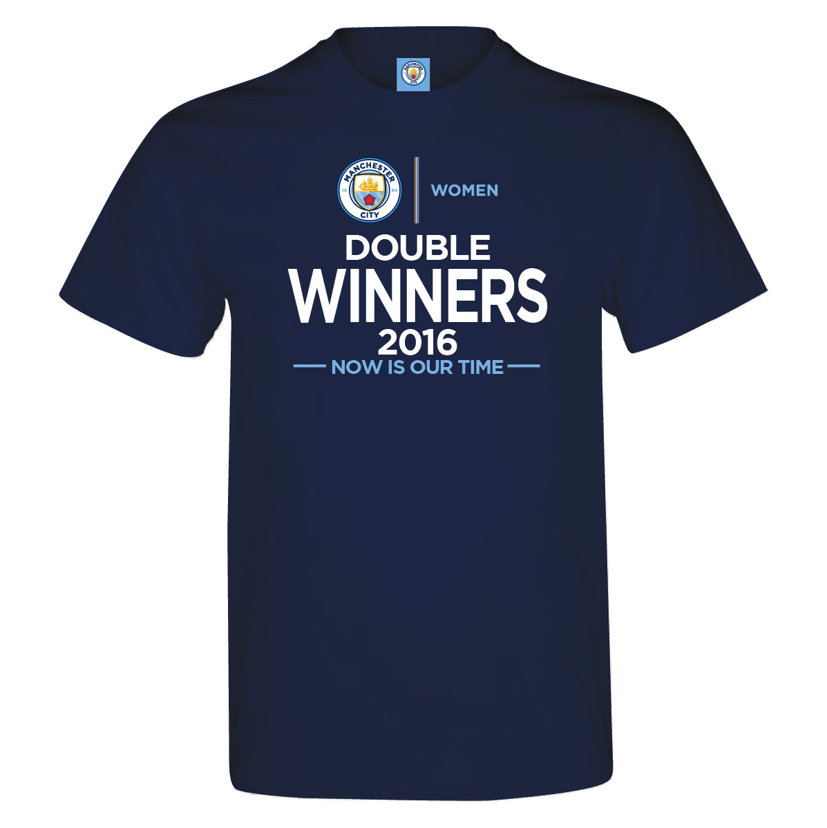 Manchester City Women Double Winners T-Shirt