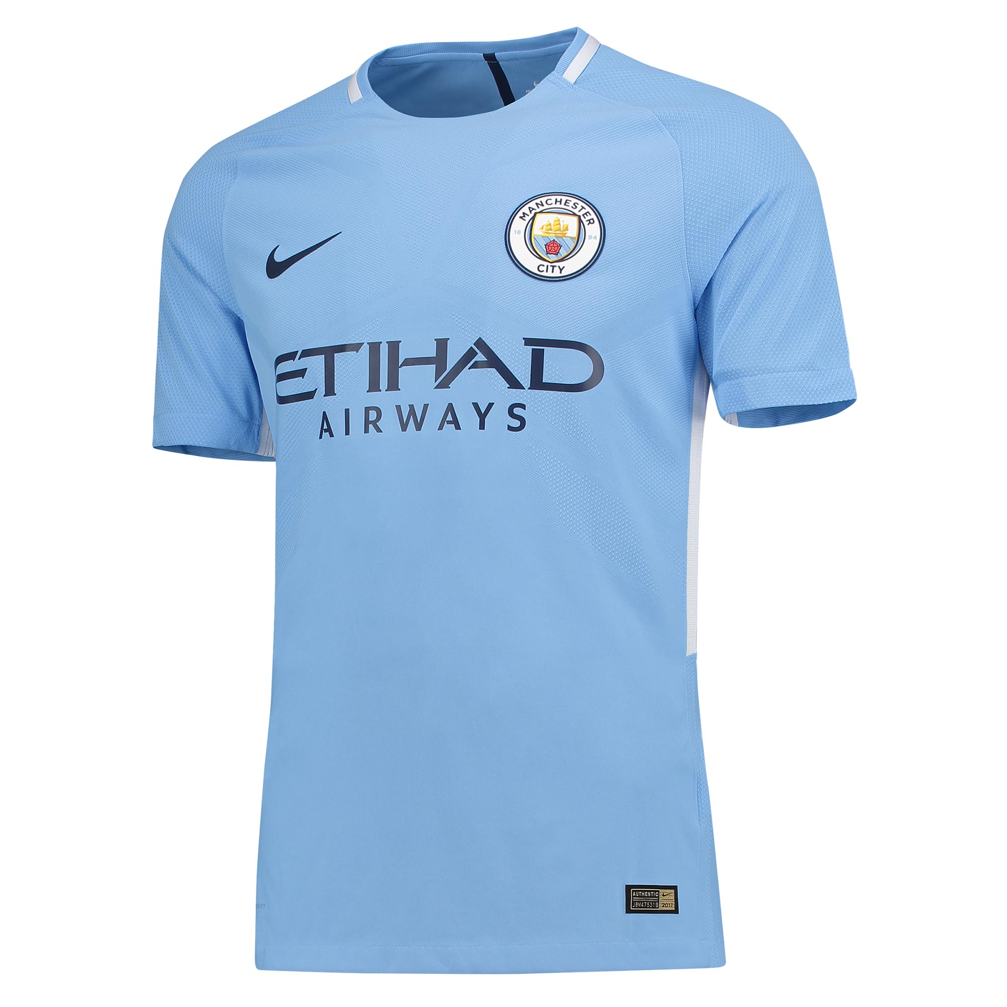 Manchester City Home Vapor Match Shirt 2017-18