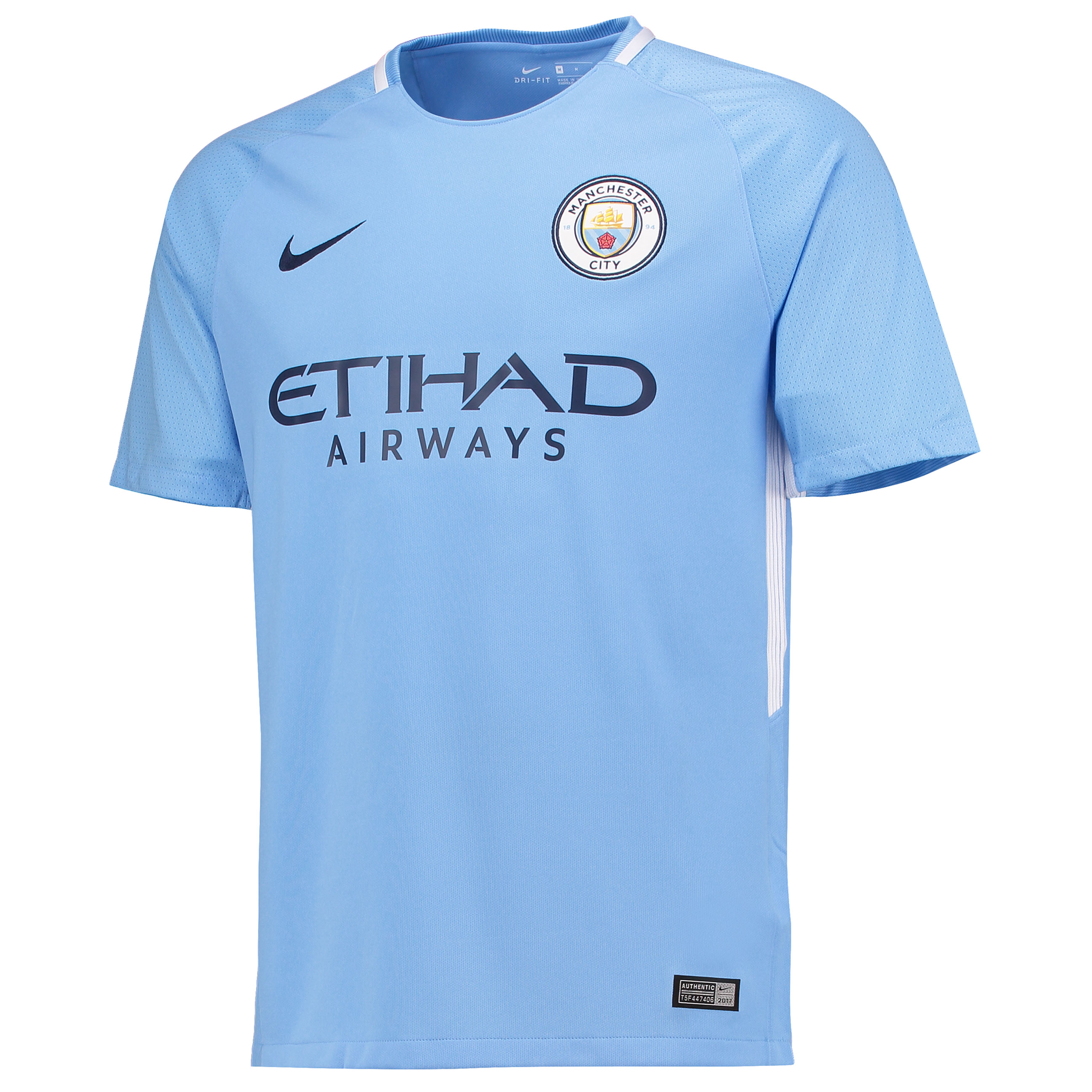Manchester City Home Stadium Shirt 2017-18