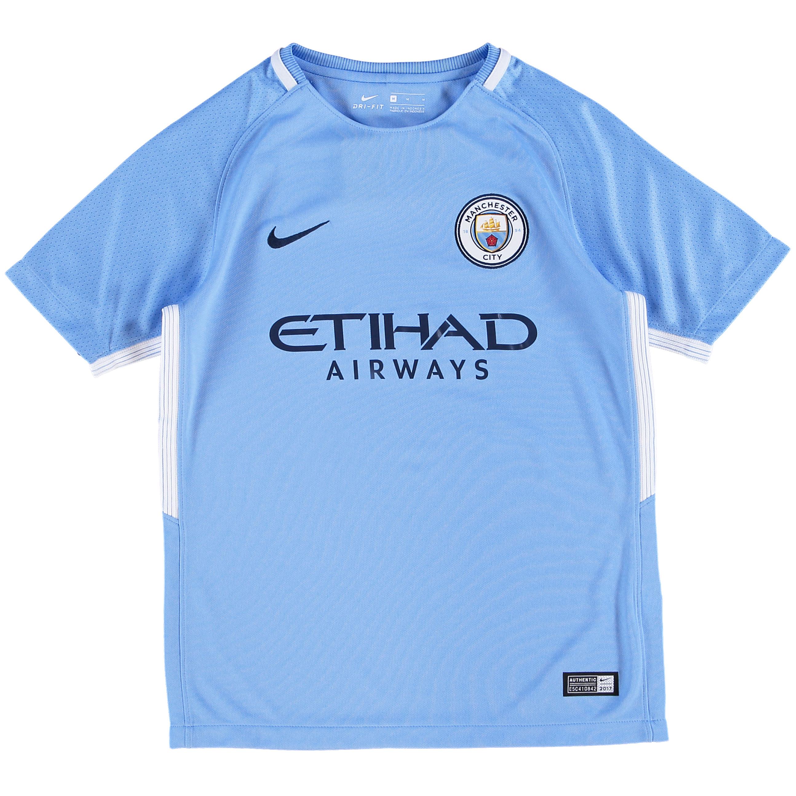 Manchester City Home Stadium Shirt 2017-18 - Kids