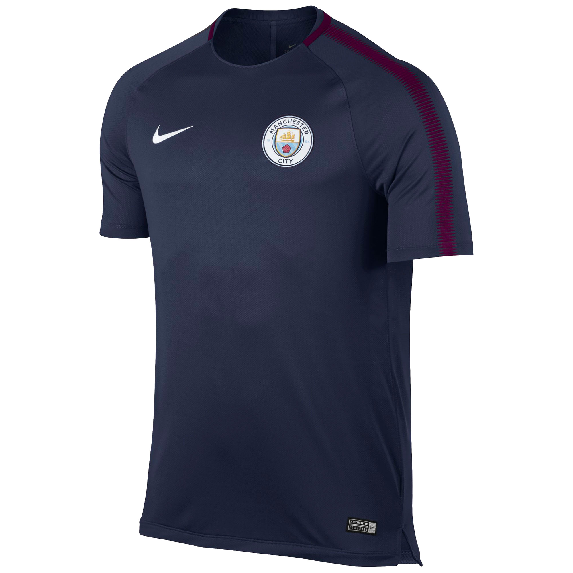 Manchester City Squad Training Top - Navy - Kids