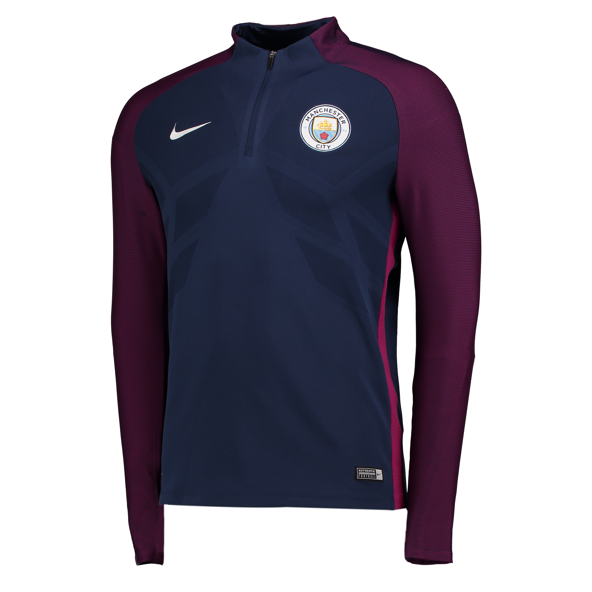 Manchester City Strike Aeroswift Drill Top - Navy