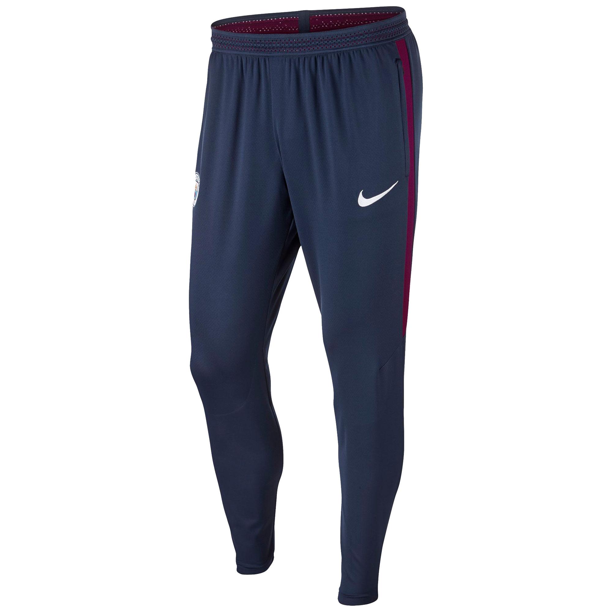 Manchester City Strike Aeroswift Pants - Navy