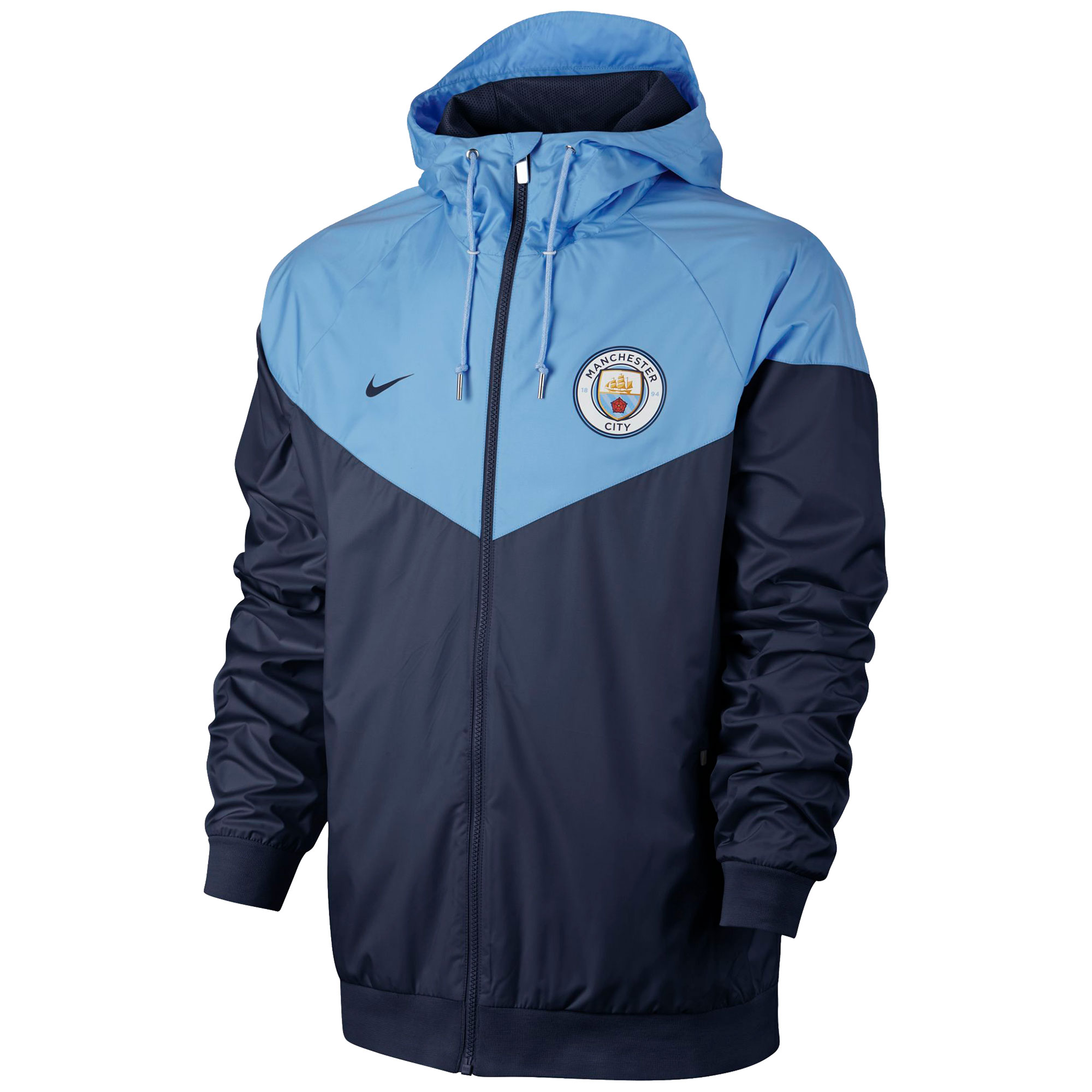 Manchester City Authentic Windrunner - Navy