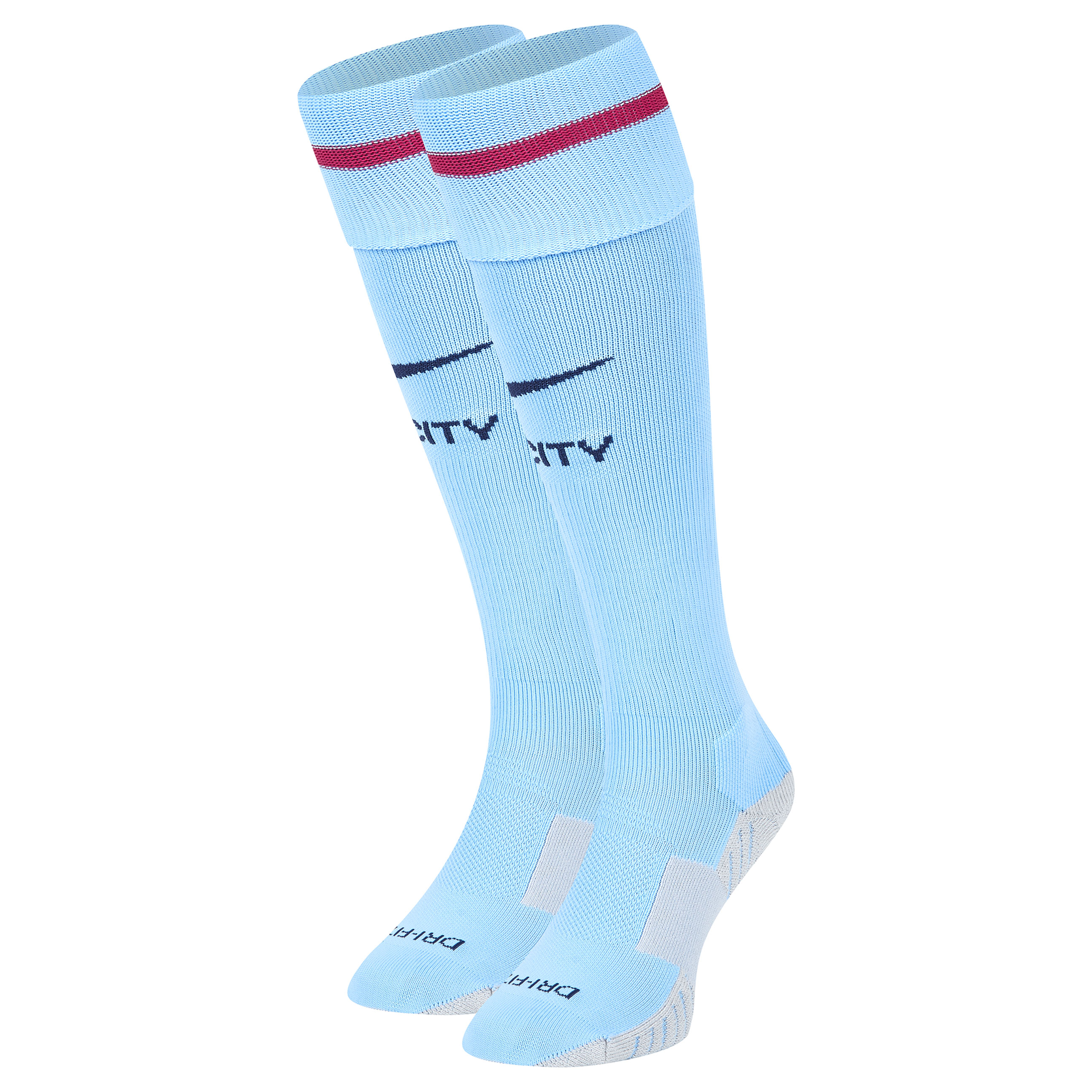 Manchester City Home Match Socks 2017-18