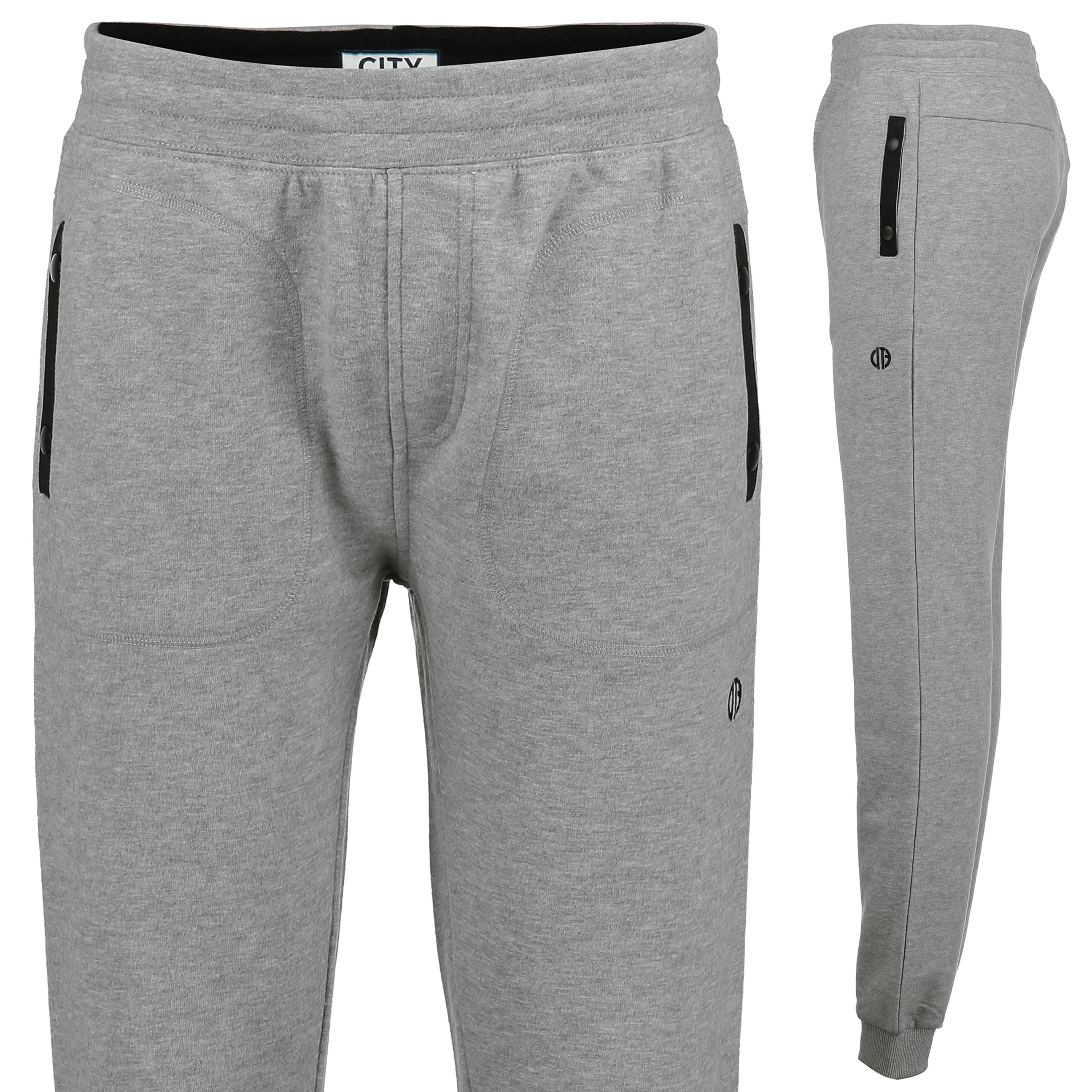 Manchester City Terrace Joggers - Grey Marl