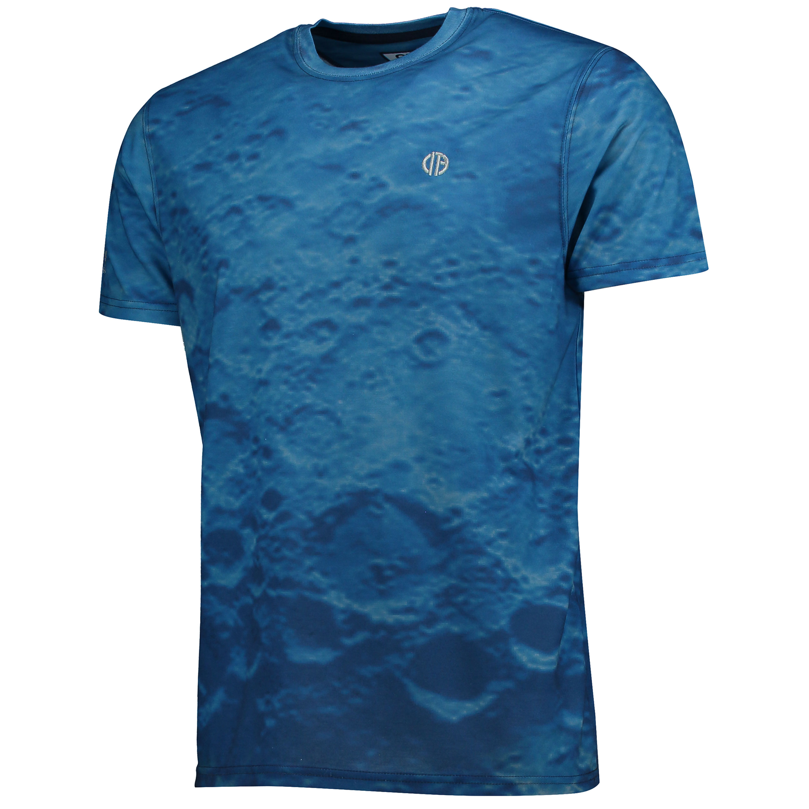 Manchester City Terrace Blue Moon T-Shirt - Navy/Sky