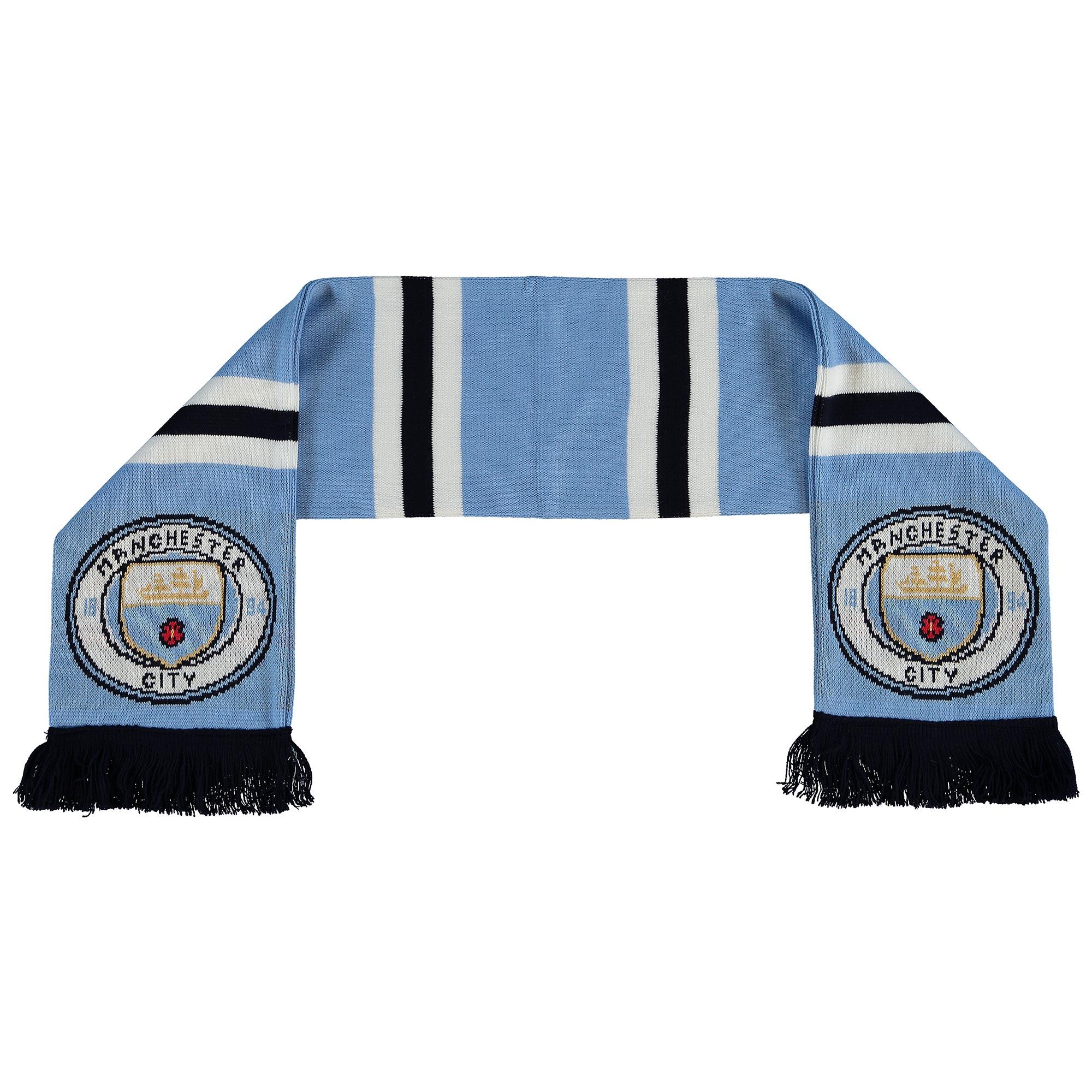 Manchester City Shader Scarf - Sky - Junior