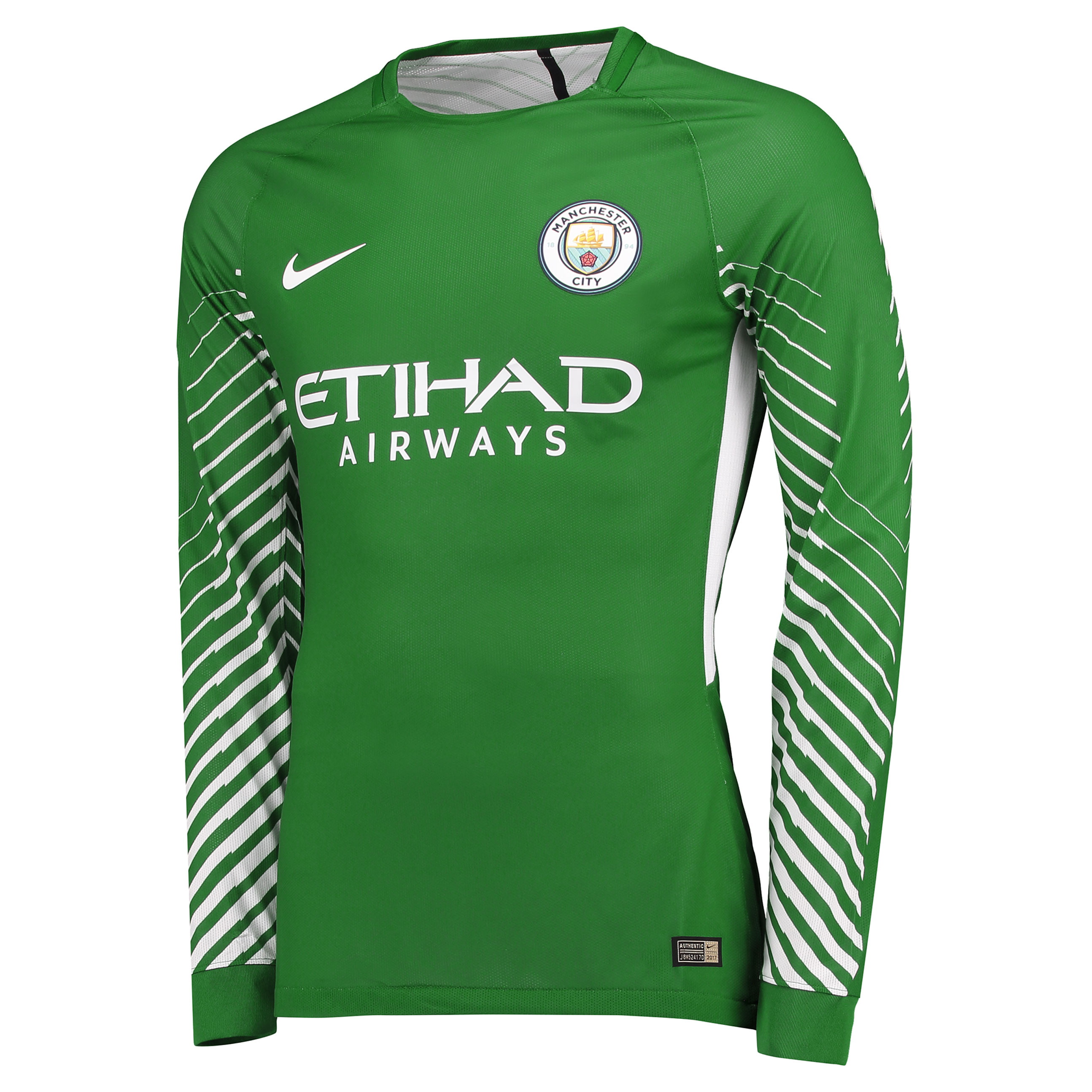 Manchester City Goalkeeper Shirt 17-18 - Kids