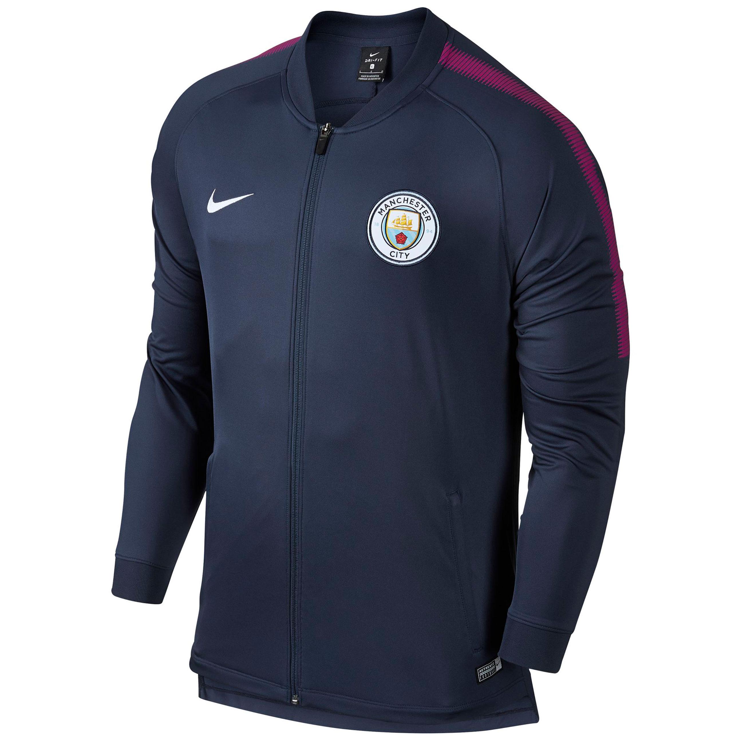 Manchester City Squad Track Jacket - Navy