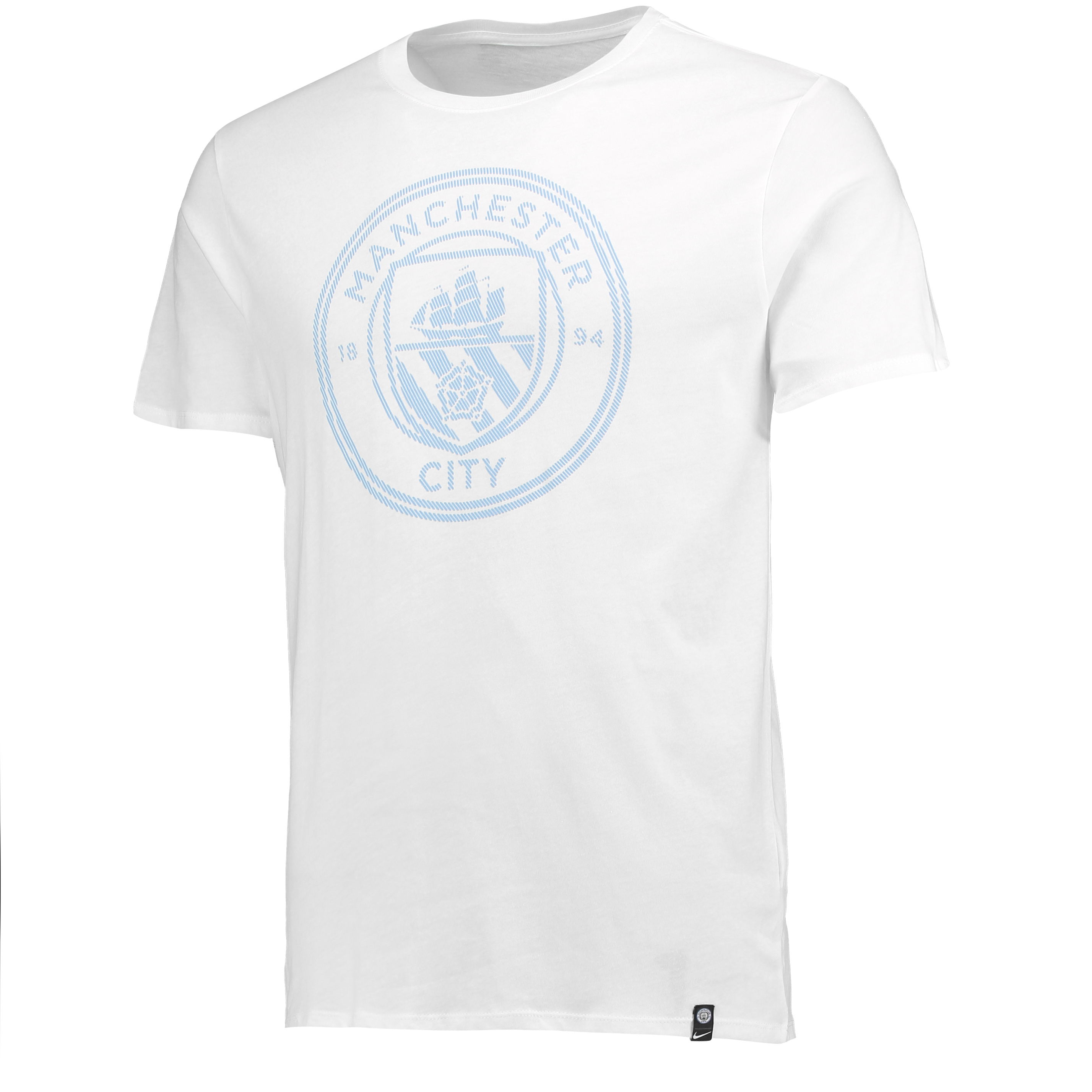 Manchester City Crest T-Shirt - White