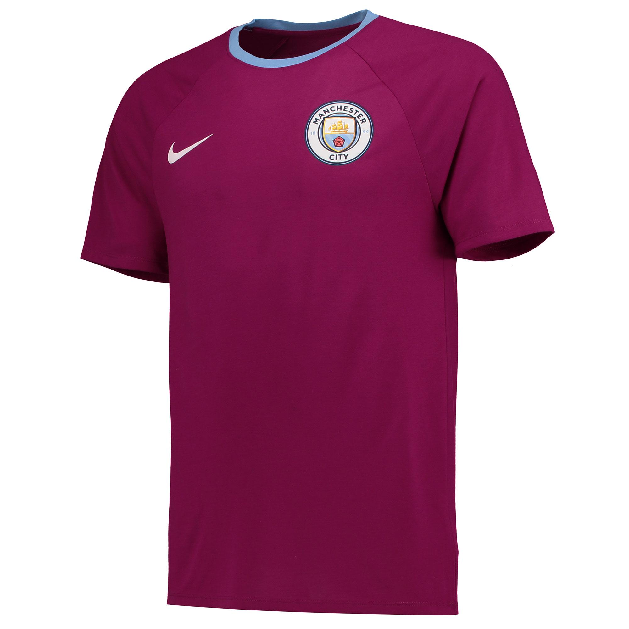 Manchester City Match T-Shirt - Maroon