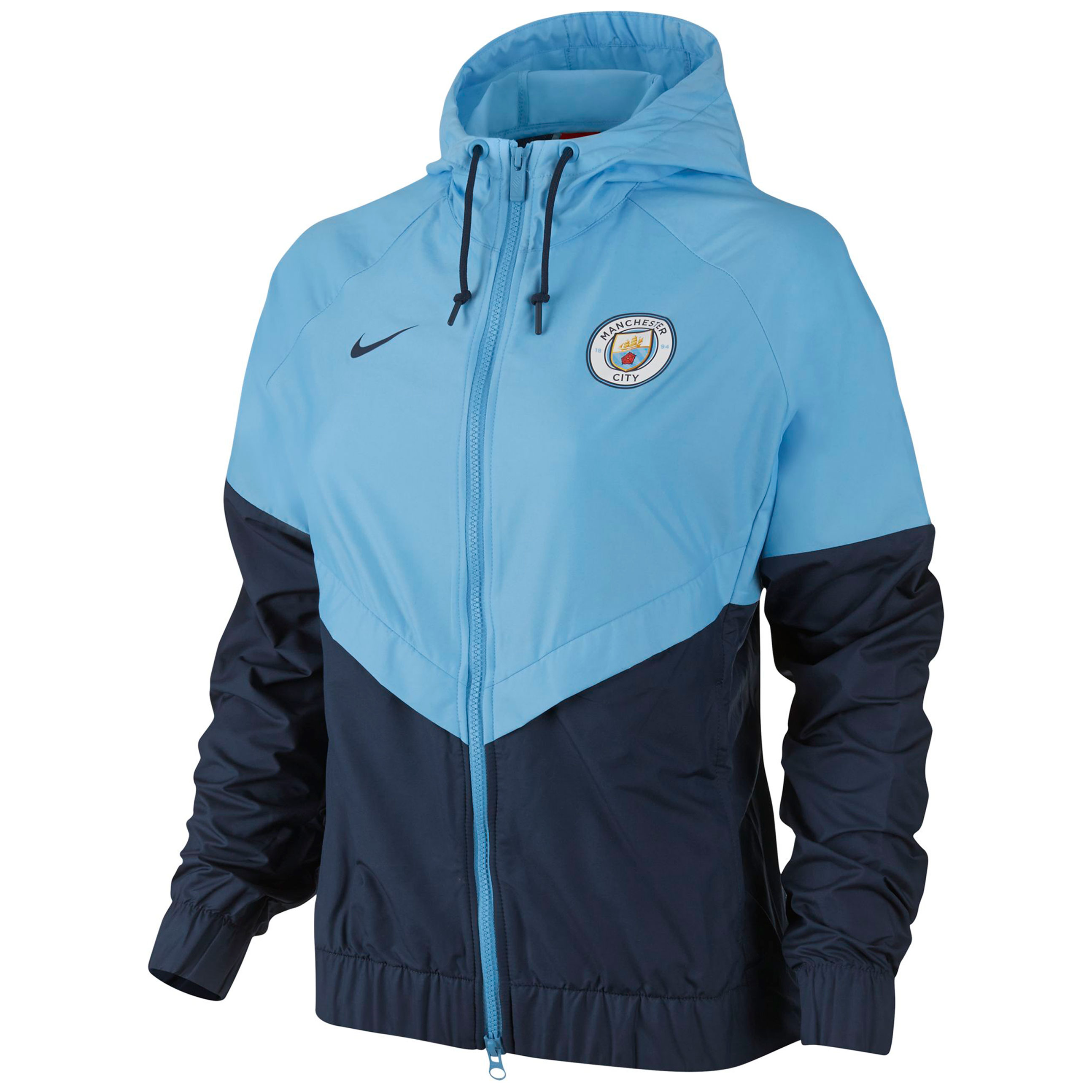 Manchester City Authentic Windrunner - Navy - Womens