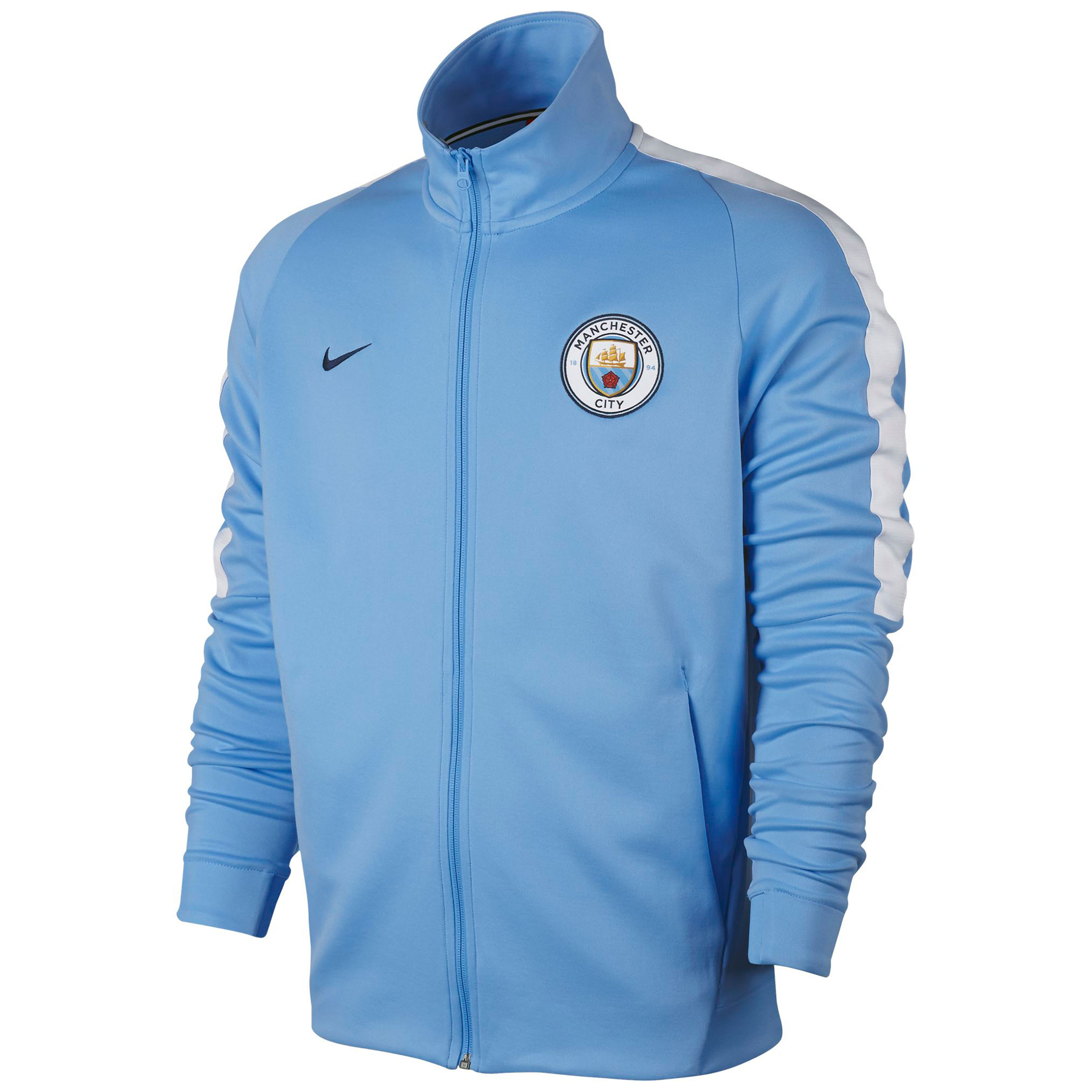 Manchester City Franchise Jacket - Light Blue