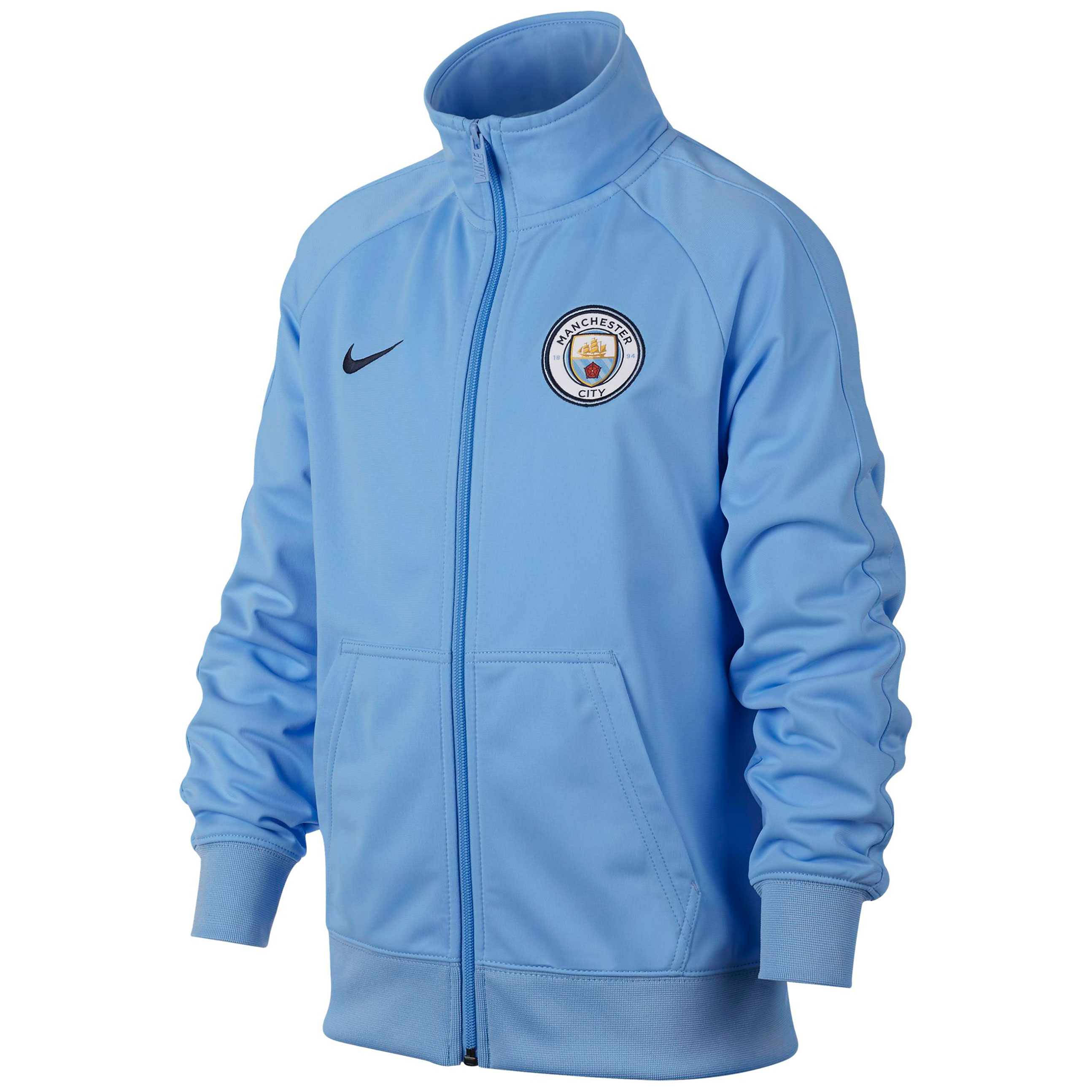 Manchester City Core Track Jacket - Light Blue - Kids