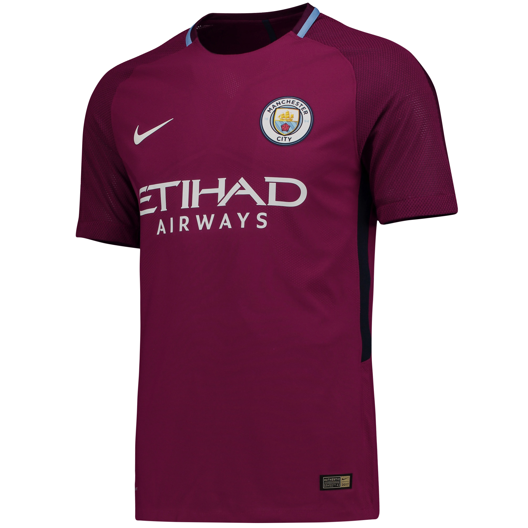 Manchester City Away Vapor Match Shirt 2017-18