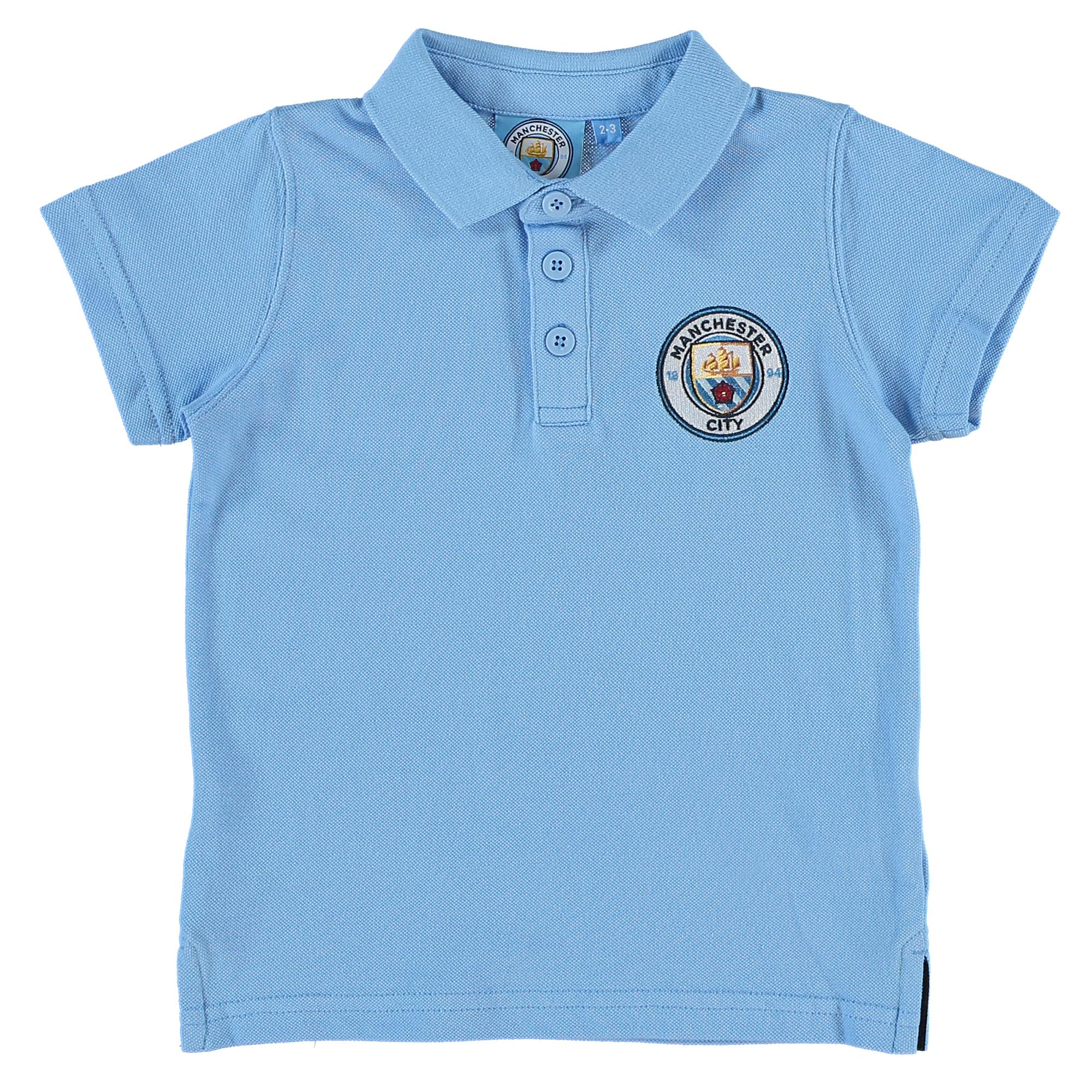 Manchester City Core Polo - Sky (2-13yrs)