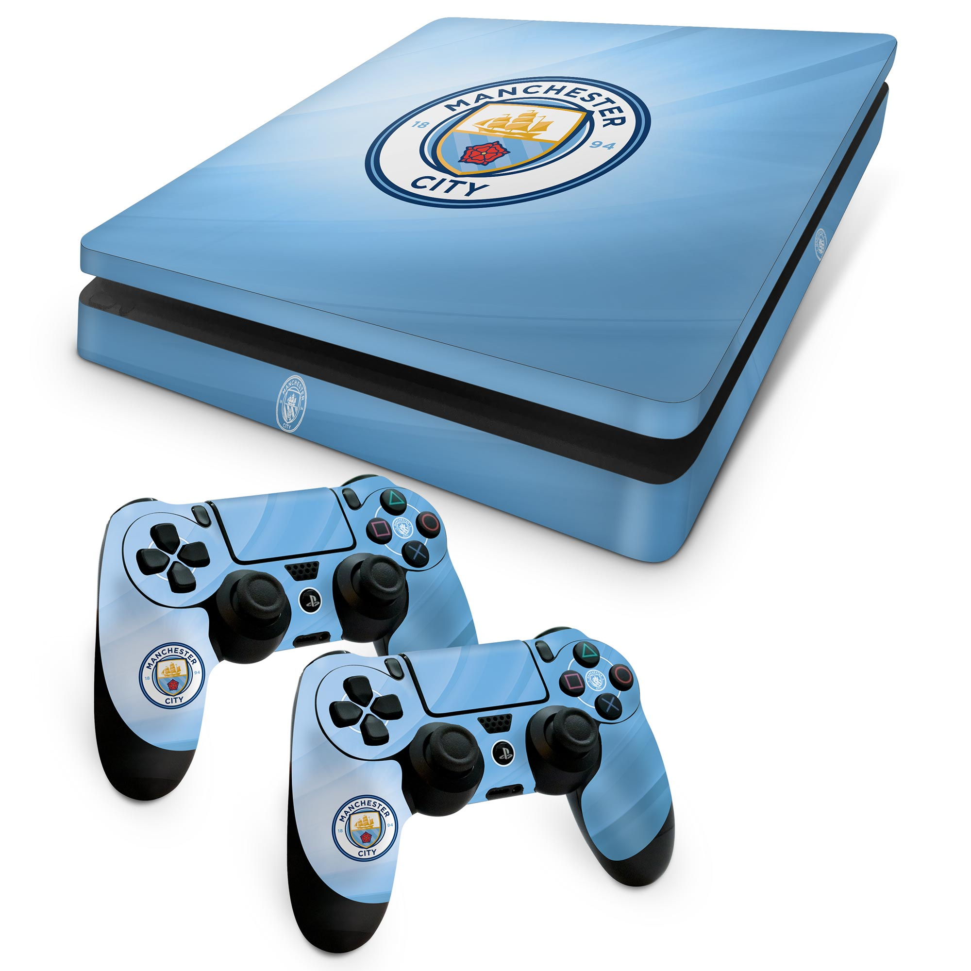 Manchester City Console and Controller Skin - PS4 Slim