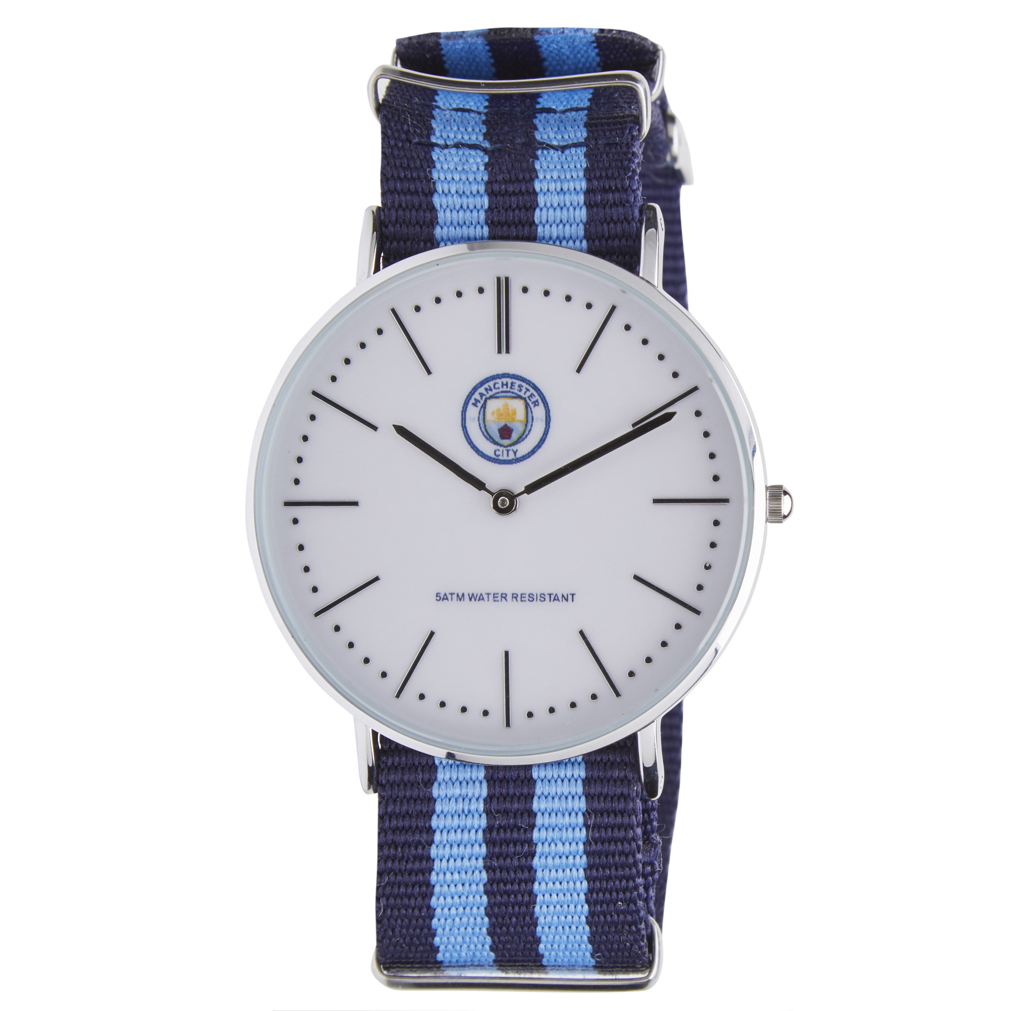 Manchester City Nylon Strap Watch