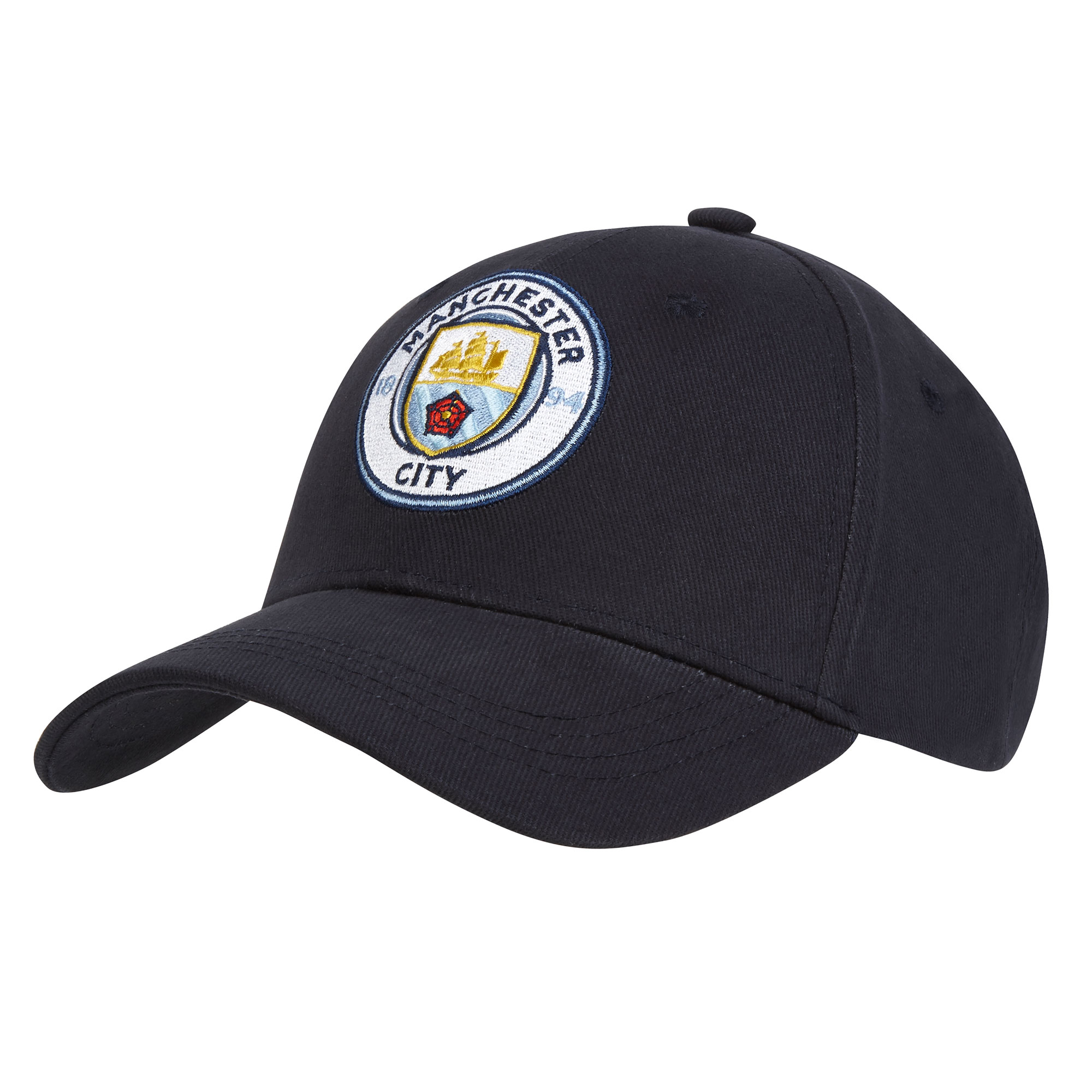 Manchester City UEFA Champions League Baseball Cap - Navy - Adult