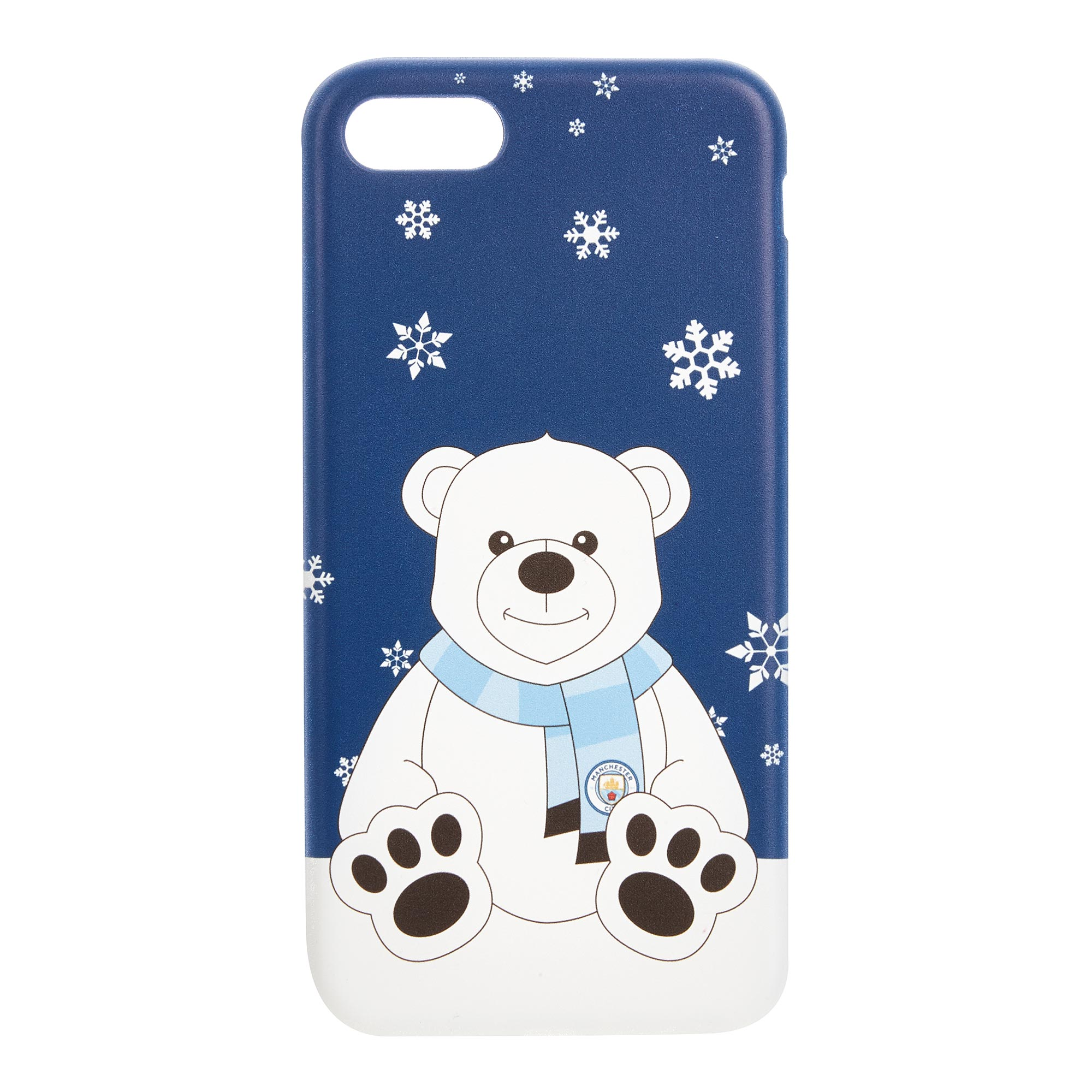 Ecell global Ltd / Manchester City Christmas Polar Bear iPhone 7-8 Phone Case