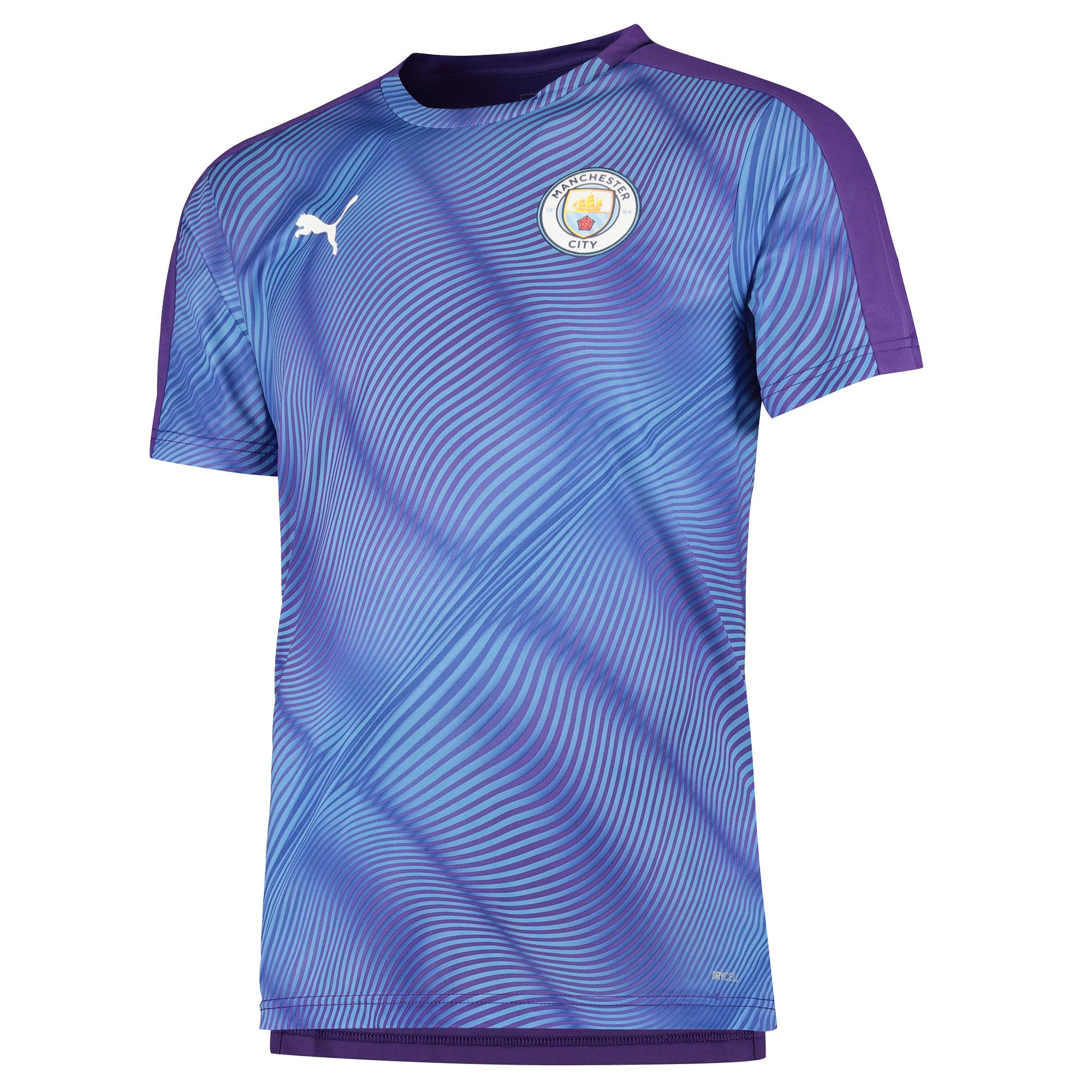 Jersey con el estadio del Manchester City - púrpura