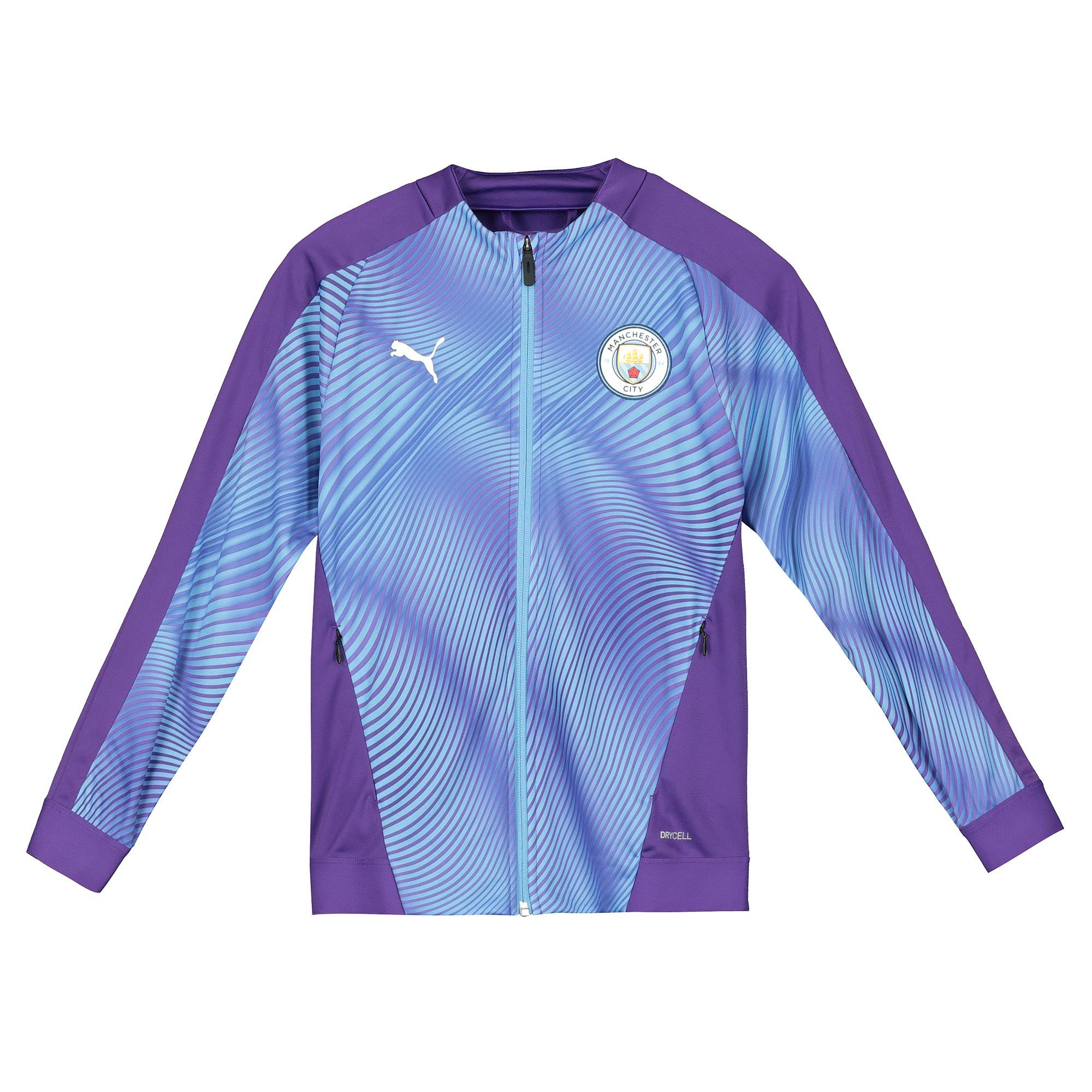 Chaqueta con el estadio del Manchester City - púrpura - niño