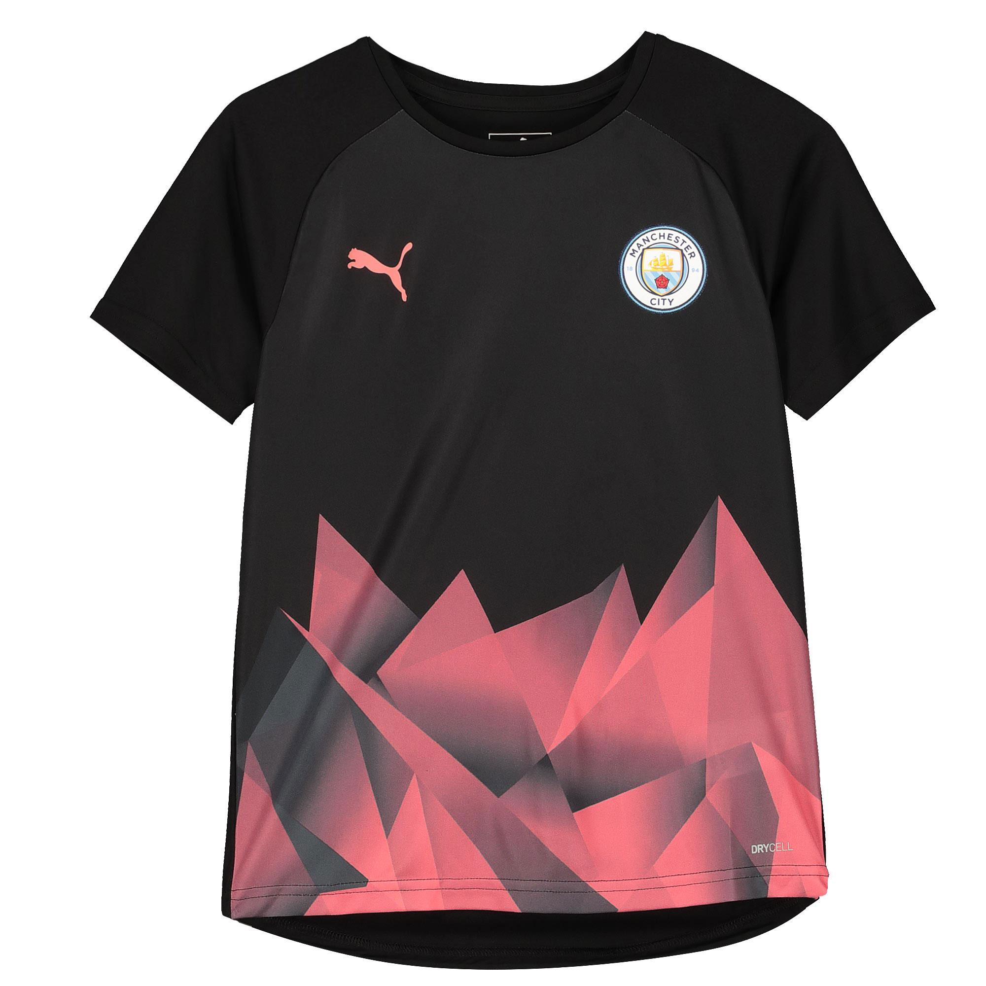 Jersey con el estadio del Manchester City - negro - niño