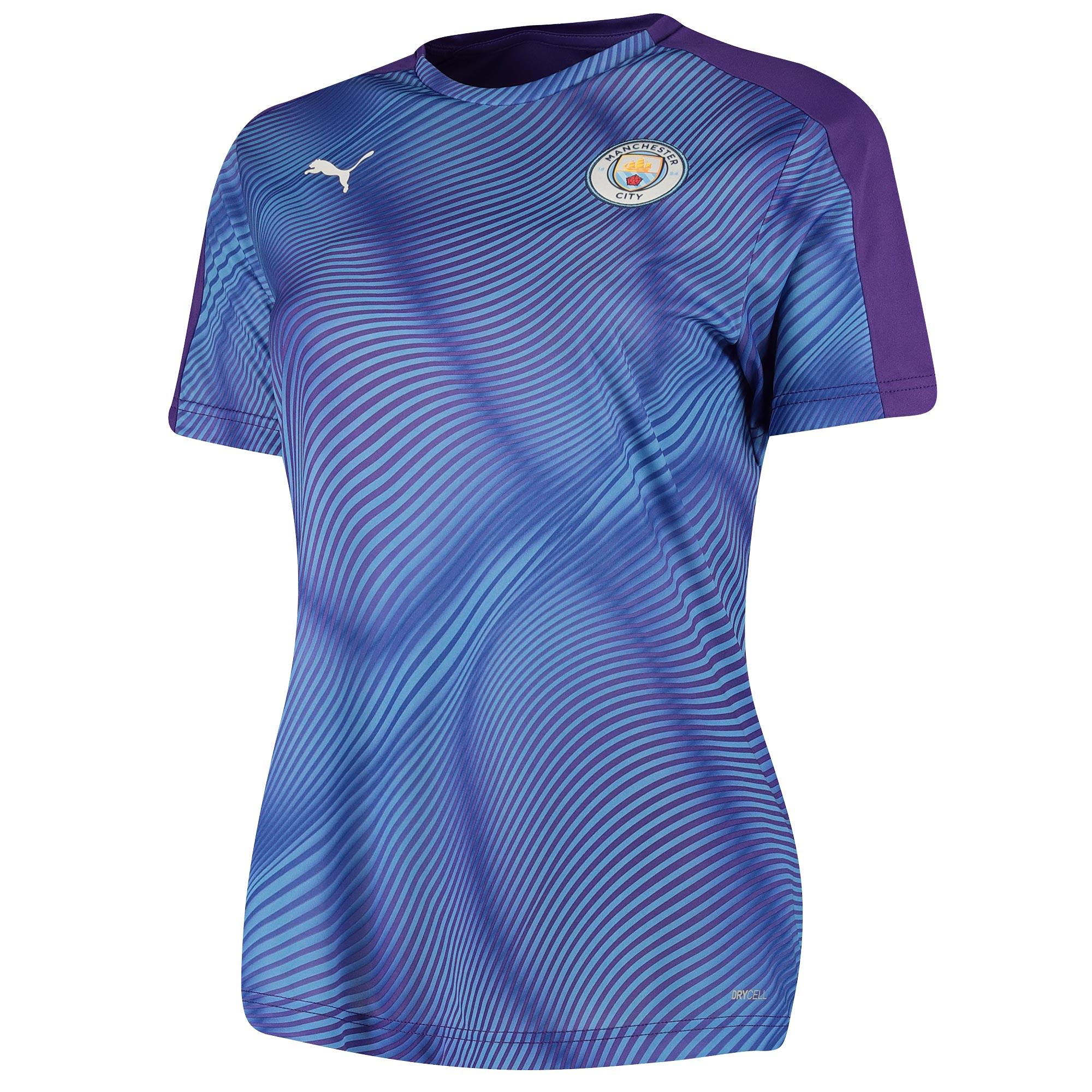 Jersey con el estadio del Manchester City - púrpura - mujer
