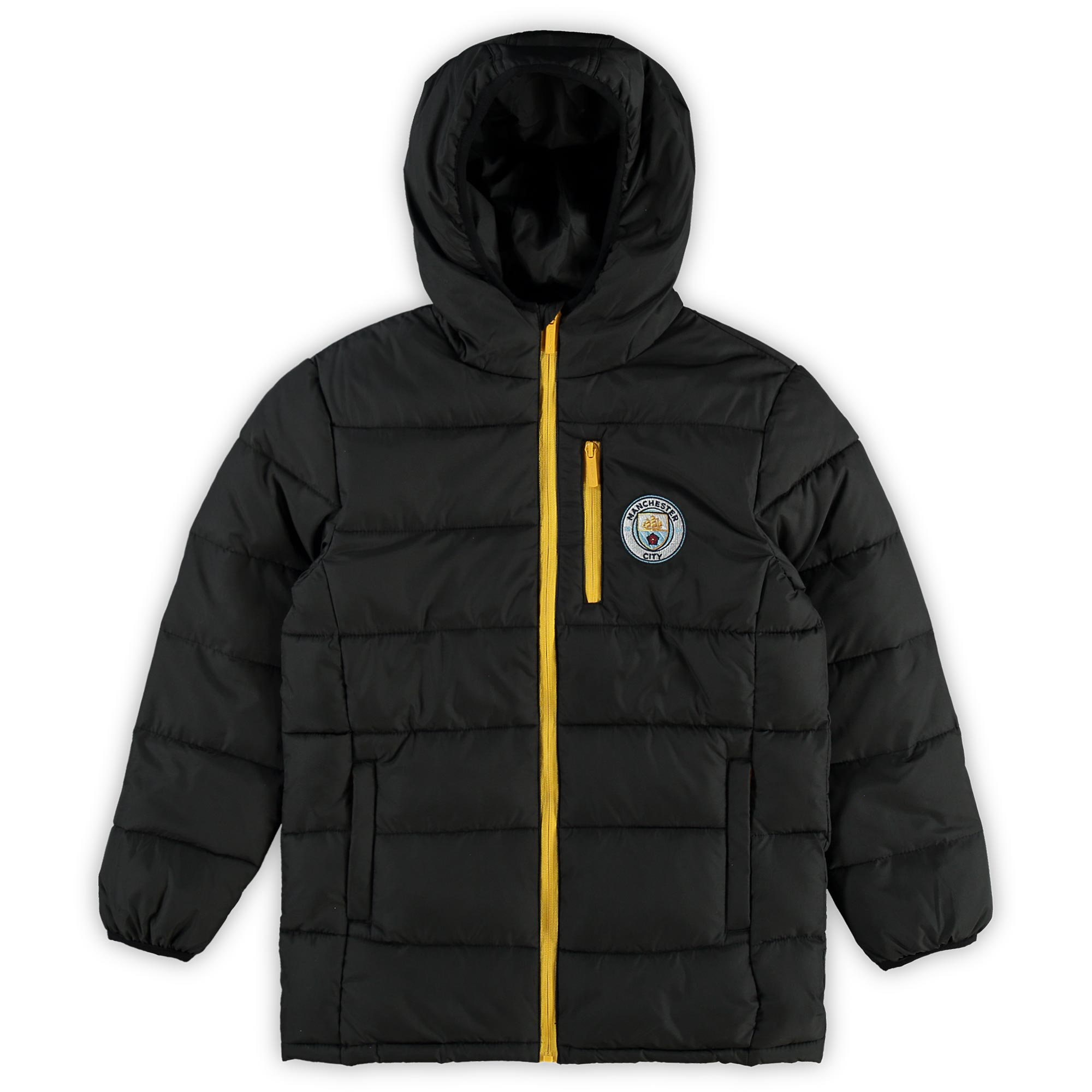 Manchester City Padded Jacket - Black - Kids